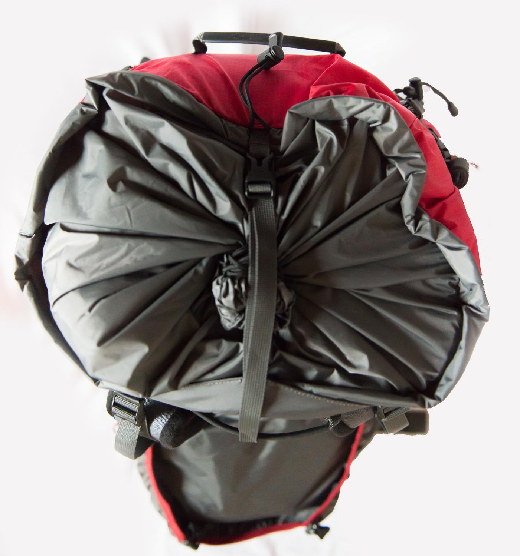 Утяжка тубуса рюкзак Light вид сверху