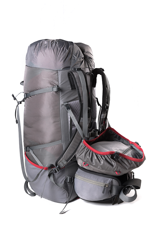 Вид рюкзак без клапана