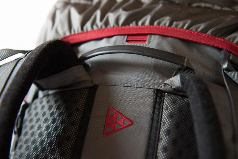 2 удобные рючки для переноски рюкзака
