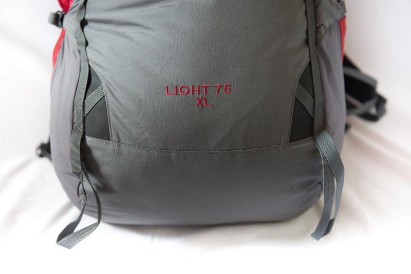Усиления на нижней части рюкзака