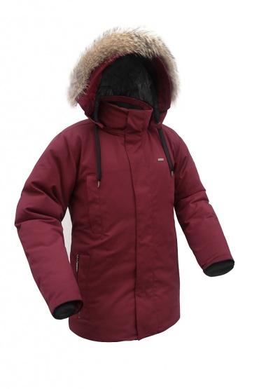 Пуховая куртка BASK ARGUT 1462Мужская пуховая куртка для городской зимы из коллекции Outdoor Spirit.&amp;nbsp;<br><br>&quot;Дышащие&quot; свойства: Да<br>Верхняя ткань: Nylon 50%, Cotton 50%, Teflon WR<br>Вес граммы: 1940<br>Вес утеплителя: 320<br>Ветро-влагозащитные свойства верхней ткани: Да<br>Ветрозащитная планка: Да<br>Ветрозащитная юбка: Да<br>Влагозащитные молнии: Нет<br>Внутренние манжеты: Да<br>Внутренняя ткань: Advance® Classic<br>Дублирующий центральную молнию клапан: Да<br>Защитный козырёк капюшона: Нет<br>Капюшон: Съемный<br>Карман для средств связи: Нет<br>Количество внешних карманов: 4<br>Количество внутренних карманов: 2<br>Коллекция: OutDoor Spirit<br>Мембрана: Нет<br>Объемный крой локтевой зоны: Нет<br>Отстёгивающиеся рукава: Нет<br>Показатель Fill Power (для пуховых изделий): 650<br>Пол: Мужской<br>Проклейка швов: Нет<br>Регулировка манжетов рукавов: Нет<br>Регулировка низа: Нет<br>Регулировка объёма капюшона: Да<br>Регулировка талии: Да<br>Регулируемые вентиляционные отверстия: Нет<br>Световозвращающая лента: Нет<br>Температурный режим: -25<br>Технология Thermal Welding: Нет<br>Технология швов: Простые<br>Тип молнии: Двухзамковая<br>Тип утеплителя: Натуральный<br>Ткань усиления: Нет<br>Усиление контактных зон: Нет<br>Утеплитель: Гусиный пух<br>Размер RU: 56<br>Цвет: КОРИЧНЕВЫЙ