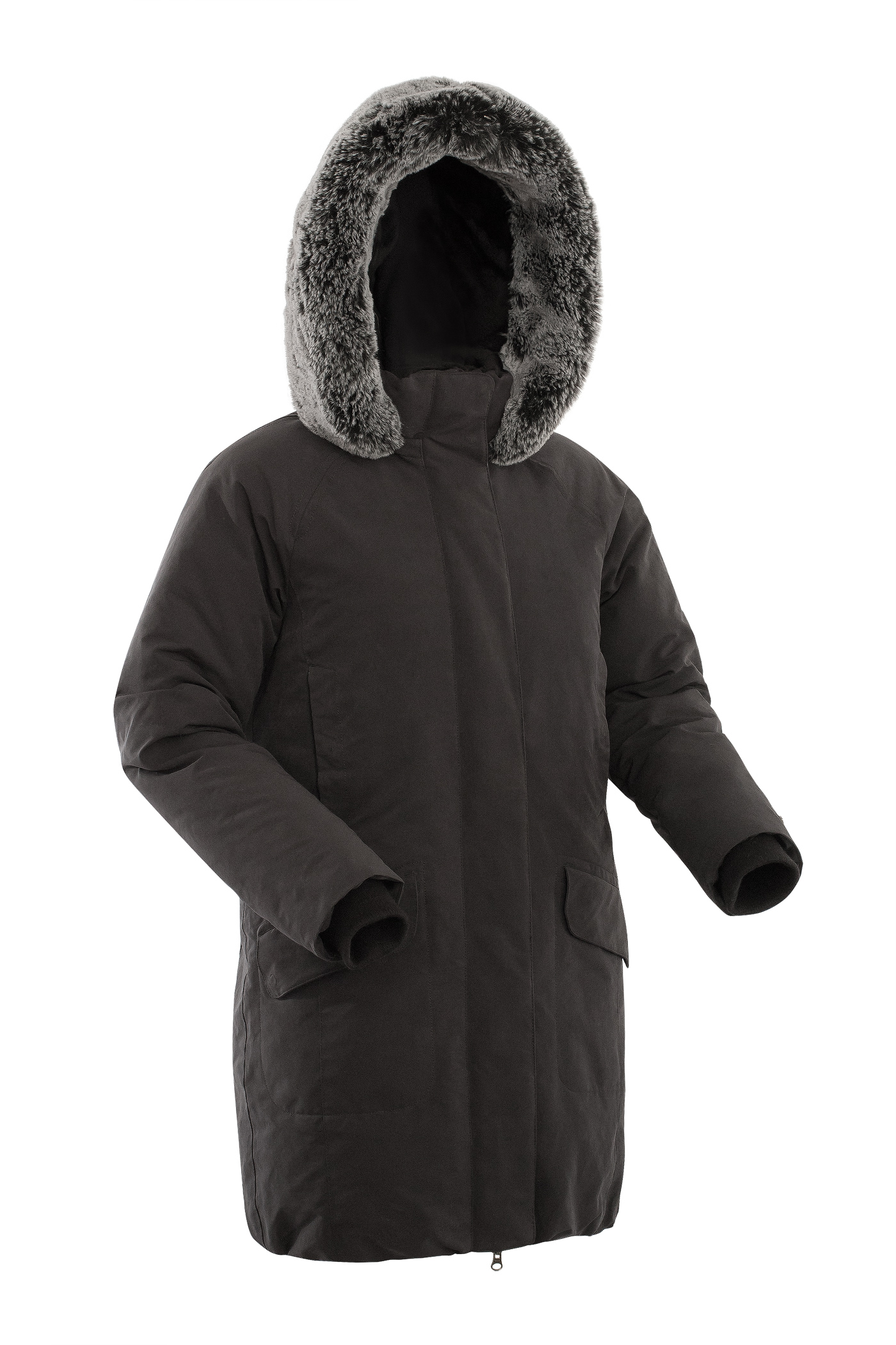 Куртка BASK ISIDA 1505Куртки<br><br><br>Ветро-влагозащитные свойства верхней ткани: Да<br>Ветрозащитная планка: Да<br>Ветрозащитная юбка: Нет<br>Внутренние манжеты: Да<br>Дублирующий центральную молнию клапан: Да<br>Коллекция: BASK City<br>Регулировка манжетов рукавов: Нет<br>Световозвращающая лента: Нет<br>Технология Thermal Welding: Нет<br>Тип утеплителя: Натуральный<br>Утеплитель: Гусиный пух<br>Размер RU: 46<br>Цвет: ЧЕРНЫЙ