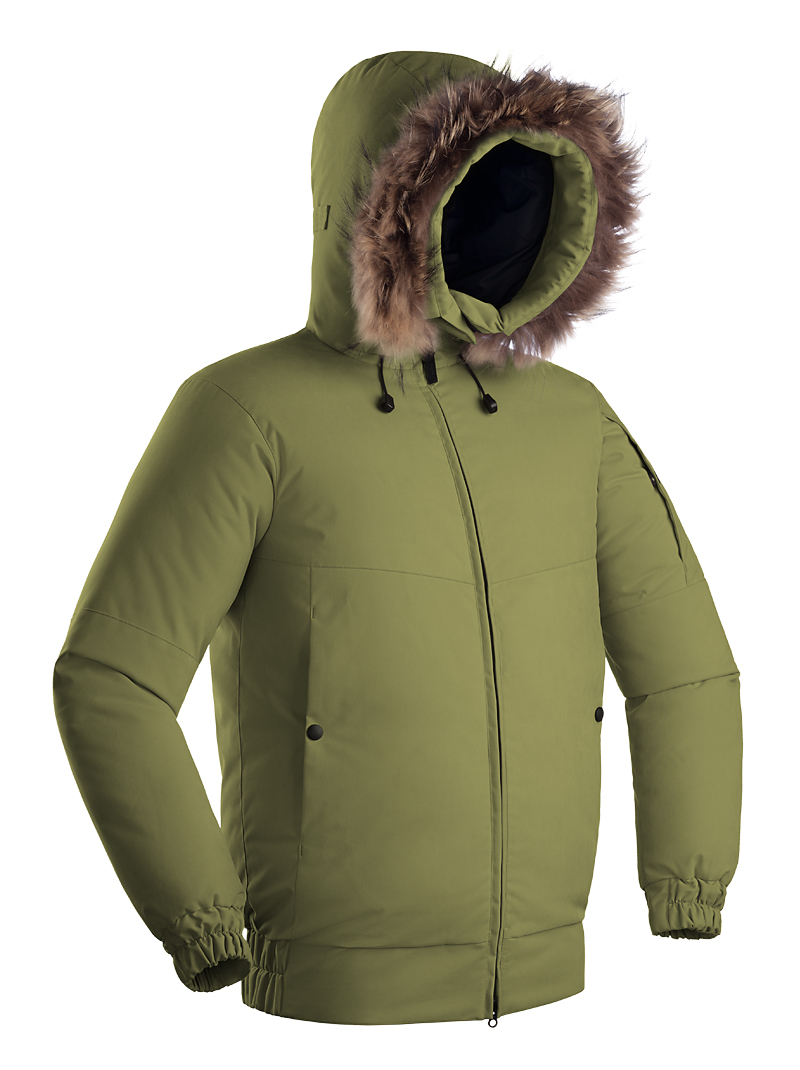 Пуховая куртка BASK YGRA HARD фото