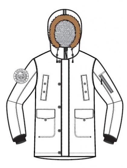 Пуховая куртка BASK DIXON SPECIAL 1461s