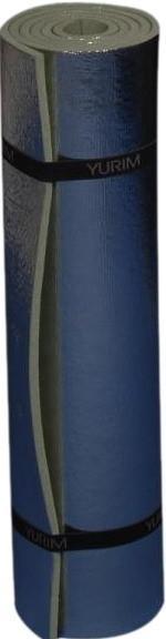 Туристический коврик YURIM с фольгой YU7106Туристический коврик с металлизированным покрытием.<br><br>Длина см.: 180<br>Складной: Нет<br>Толщина мм: 1<br>Ширина см.: 60