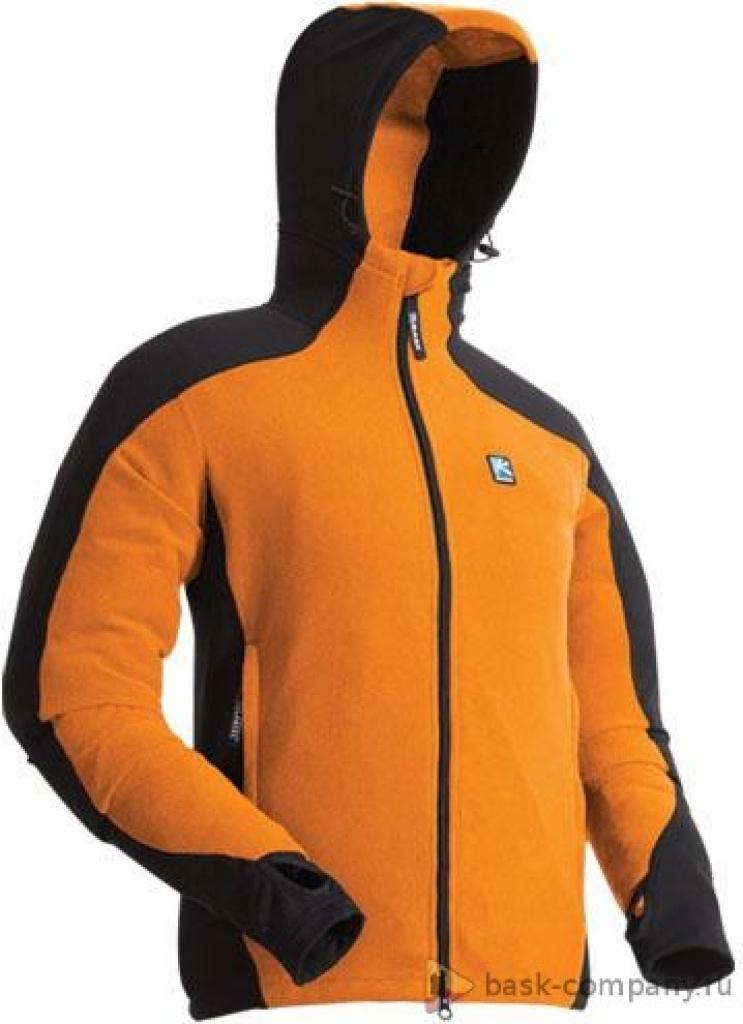 Флисовая куртка BASK MARATHON 4045V2Флисовые куртки<br><br><br>Боковые карманы: 2<br>Пол: Унисекс<br>Регулировка низа: Да<br>Размер INT: XS<br>Цвет: ОРАНЖЕВЫЙ