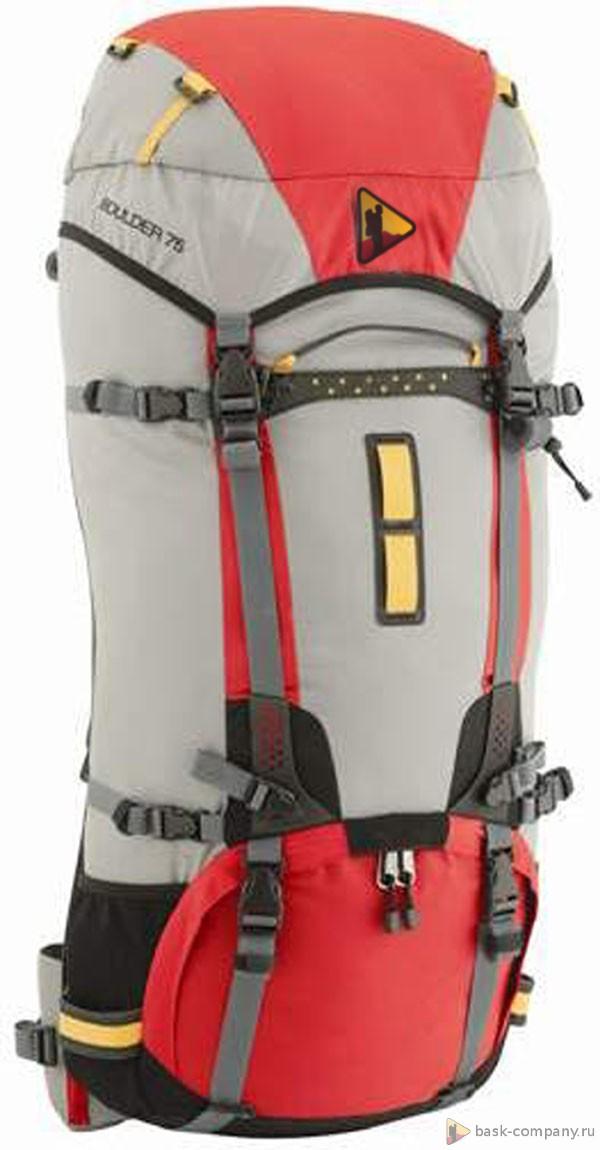 Туристический рюкзак BASK BOULDER 75 4015Легкий и технологичный рюкзак туристический объемом 75 литров имеет съемный алюминиевый каркас.&amp;nbsp;<br><br>Анатомическая конструкция спины и ремней: Да<br>Вентиляция спины: Да<br>Вес граммы: 2050<br>Внутренние карманы: Да<br>Внутренняя перегородка: Да<br>Возможность крепления сноуборда/скейтборда/лыж: Нет<br>Габариты: 75х38х27 см<br>Грудной фиксатор: Да<br>Карман для гидратора: Нет<br>Карман для средств связи: Нет<br>Карманы на поясе: Нет<br>Клапан: съемный<br>Назначение: трекинговый<br>Накидка от дождя: Нет<br>Наружная навеска: крепления для ледового инструмента<br>Наружные карманы: Нет<br>Нижний вход: Да<br>Объем л.: от 71 до  90<br>Регулировка объема: Да<br>Регулировка угла наклона пояса: Да<br>Светоотражающий кант: Нет<br>Система подвески: система подвески регулируется<br>Ткань: 420D Nylon Ripstop PU<br>Усиление: Cordura 1000<br>Усиление дна: Да<br>Фурнитура: Duraflex<br>Цвет: ХАКИ
