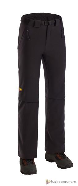 Брюки BASK BLADE V2 3059aЛёгкие штормовые брюки из ткани Advance&amp;reg; Soft Shell.<br><br>Верхняя ткань: Advance® Soft Shell<br>Вес граммы: 550<br>Влагозащитные молнии: Нет<br>Количество внешних карманов: 2<br>Объемный крой коленей: Да<br>Отстегивающийся задний клапан: Нет<br>Пол: Унисекс<br>Регулировка объема нижней части штанин: Да<br>Регулировка пояса: Да<br>Регулируемые бретели: Нет<br>Регулируемые вентиляционные отверстия: Нет<br>Самосбросы: Нет<br>Система крепления к нижней части брюк: Нет<br>Снегозащитные муфты: Нет<br>Съемные защитные вкладыши: Нет<br>Технология Thermal Welding: Нет<br>Тип шва: простые<br>Усиление швов закрепками: Да<br>Функциональная молния спереди: Да<br>Размер INT: L<br>Цвет: ЧЕРНЫЙ