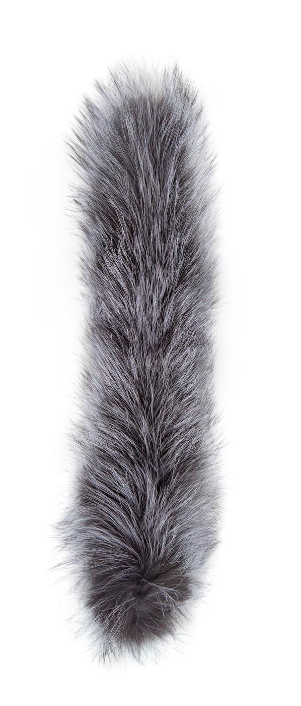 БАСК МЕХ ЛИСА ЧЕРНО-БУРАЯ 1233Опушка из меха черно-бурой лисы<br><br>Вес граммы: 150