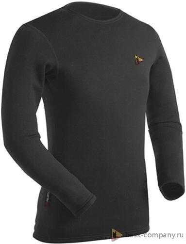 Куртка BASK GREENWICH - J 946jМужская футболка с длинными рукавами из ткани Polartec&amp;reg; Power Stretch&amp;reg; Pro.<br><br>Вес изделия: 225<br>Воротник: Нет<br>Материал: Polartec® Power Stretch® Pro<br>Молнии: Нет<br>Плотность ткани: 241<br>Пол: Унисекс<br>Тип шва: плоский<br>Функциональная задняя молния: Нет<br>Размер INT: XXL<br>Цвет: ЧЕРНЫЙ