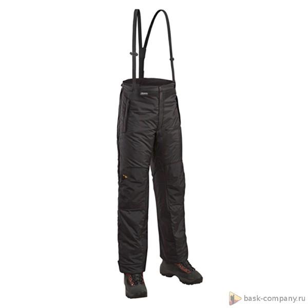 Брюки BASK HIKE 05 5153aМногофункциональные лёгкие утеплённые брюки&amp;ndash;самосбросы для зимних видов спорта.<br><br>Верхняя ткань: Advance® Ecliptic<br>Вес граммы: 620<br>Влагозащитные молнии: Нет<br>Внутренняя ткань: Advance® Classic<br>Количество внешних карманов: 2<br>Объемный крой коленей: Да<br>Отстегивающийся задний клапан: Нет<br>Пол: Унисекс<br>Регулировка объема нижней части штанин: Да<br>Регулировка пояса: Да<br>Регулируемые бретели: Да<br>Регулируемые вентиляционные отверстия: Нет<br>Самосбросы: Да<br>Система крепления к нижней части брюк: Нет<br>Снегозащитные муфты: Нет<br>Съемные защитные вкладыши: Нет<br>Температурный режим: -10<br>Технология Thermal Welding: Нет<br>Тип утеплителя: Cинтетический<br>Ткань усиления: Nylon Ripstop Tactel<br>Усиление швов закрепками: Да<br>Утеплитель: Shelter®Sport<br>Функциональная молния спереди: Да<br>Размер RU: 58<br>Цвет: ЧЕРНЫЙ