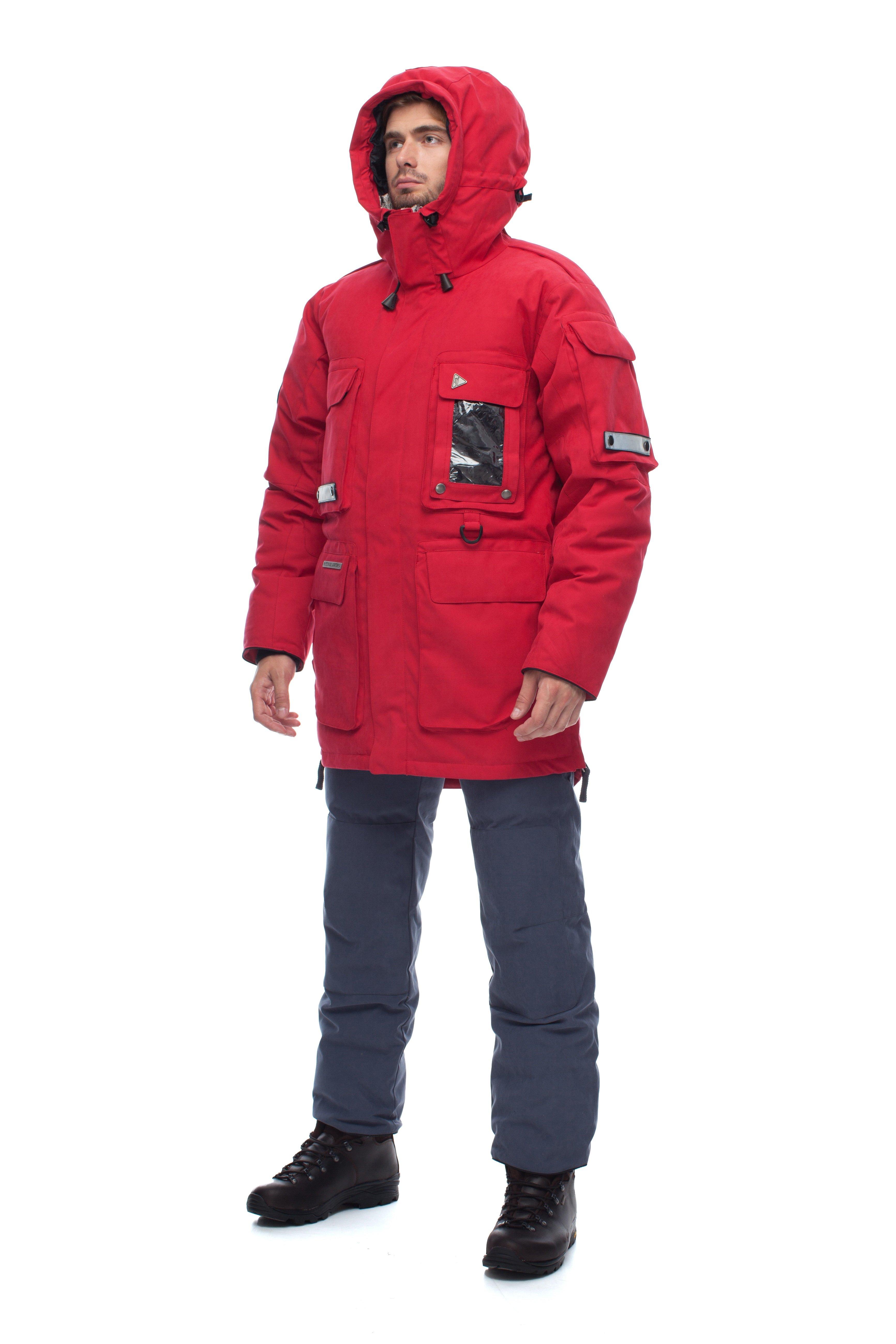 Куртка BASK ANABAR 1476Куртки<br><br><br>&quot;Дышащие&quot; свойства: Да<br>Верхняя ткань: Advance® Alaska<br>Вес граммы: 2530<br>Вес утеплителя: 400<br>Ветро-влагозащитные свойства верхней ткани: Да<br>Ветрозащитная планка: Да<br>Ветрозащитная юбка: Да<br>Влагозащитные молнии: Нет<br>Внутренние манжеты: Да<br>Внутренняя ткань: Advance® Classic<br>Водонепроницаемость: 10000<br>Дублирующий центральную молнию клапан: Да<br>Защитный козырёк капюшона: Нет<br>Капюшон: Несъемный<br>Карман для средств связи: Да<br>Количество внешних карманов: 7<br>Количество внутренних карманов: 6<br>Коллекция: За Полярным Кругом<br>Мембрана: Да<br>Объемный крой локтевой зоны: Да<br>Отстёгивающиеся рукава: Нет<br>Паропроницаемость: 5000<br>Пол: Мужской<br>Проклейка швов: Нет<br>Регулировка манжетов рукавов: Нет<br>Регулировка низа: Нет<br>Регулировка объёма капюшона: Да<br>Регулировка талии: Да<br>Регулируемые вентиляционные отверстия: Нет<br>Световозвращающая лента: Да<br>Температурный режим: -40<br>Технология Thermal Welding: Нет<br>Технология швов: Простые<br>Тип молнии: Двухзамковая<br>Тип утеплителя: Синтетический<br>Ткань усиления: Нет<br>Усиление контактных зон: Да<br>Утеплитель: Shelter®Sport<br>Размер RU: 48<br>Цвет: ЧЕРНЫЙ
