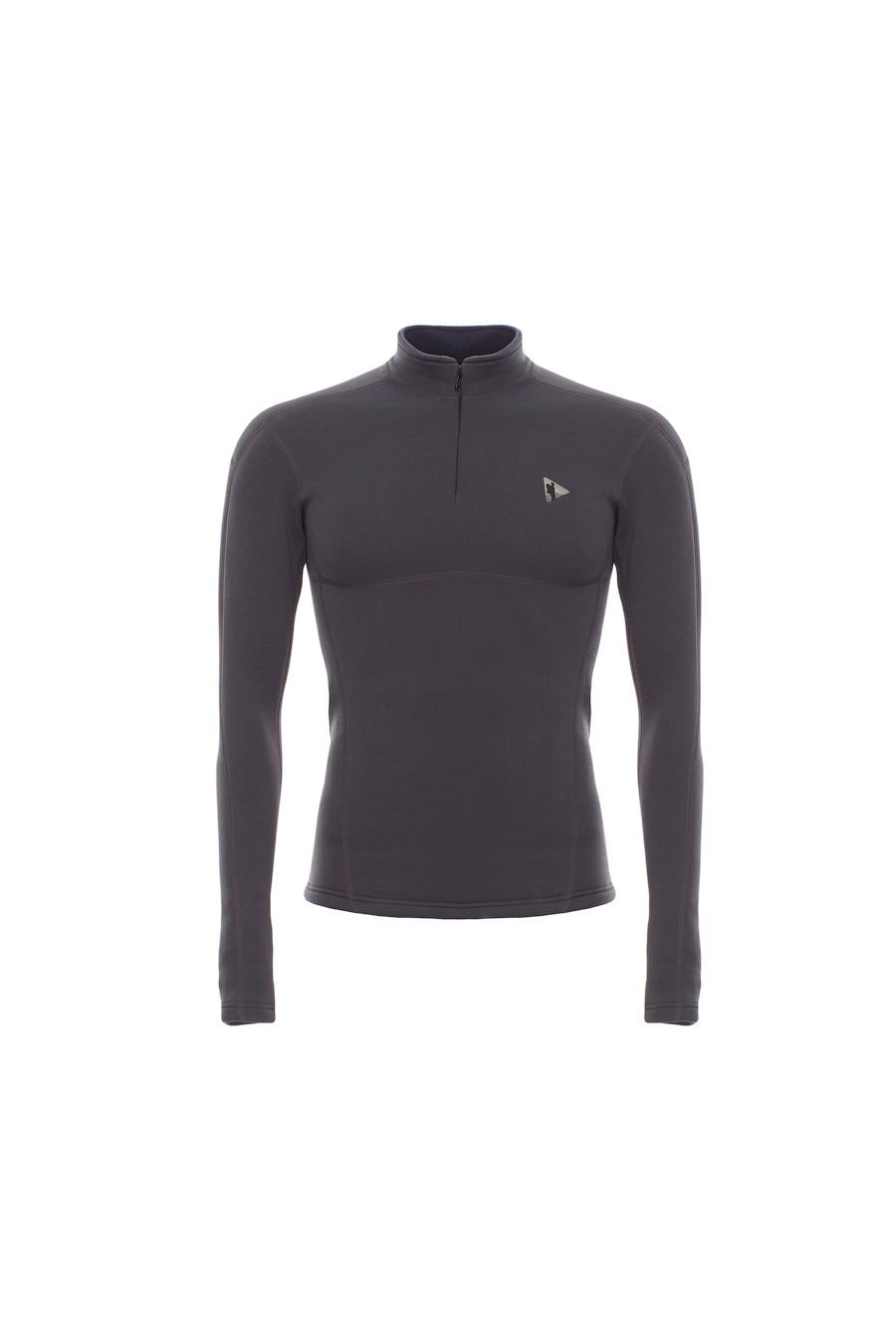 Куртка BASK T-SKIN MAN JACKET V2 3601aТёплая  толстовка из&amp;nbsp;ткани Polartec® Power Stretch® Pro. Ткань не&amp;nbsp;вытягивается. Позиционируется как термобелье спортивное, облегает тело и не накапливает влагу.<br><br>Вес изделия: 297<br>Воротник: Да<br>Материал: Polartec® Power Stretch® Pro<br>Молнии: Да<br>Плотность ткани: 241<br>Пол: Муж.<br>Тип шва: плоский<br>Функциональная задняя молния: Нет<br>Размер INT: XL<br>Цвет: СЕРЫЙ