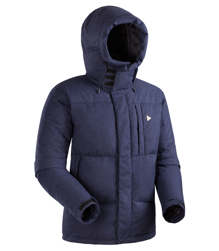 Пуховая куртка BASK AVALANCHE SOFT 5452MТёплая пуховая куртка для города и активного отдыха. Мягкая и эластичная мембранная ткань надёжно защитит от ветра и осадков. Съёмный капюшон с защитным тубусом укроет голову и лицо.<br><br>&quot;Дышащие&quot; свойства: Да<br>Верхняя ткань: Advance® Alaska Soft Melange<br>Вес граммы: 1700<br>Ветро-влагозащитные свойства верхней ткани: Да<br>Ветрозащитная планка: Да<br>Ветрозащитная юбка: Нет<br>Влагозащитные молнии: Нет<br>Внутренние манжеты: Нет<br>Внутренняя ткань: Advance® Classic<br>Водонепроницаемость: 5000<br>Дублирующий центральную молнию клапан: Да<br>Защитный козырёк капюшона: Нет<br>Капюшон: съемный<br>Карман для средств связи: Нет<br>Количество внешних карманов: 3<br>Количество внутренних карманов: 2<br>Коллекция: BASK CITY<br>Мембрана: Advance® 2L<br>Объемный крой локтевой зоны: Да<br>Отстёгивающиеся рукава: Нет<br>Паропроницаемость: 10000<br>Показатель Fill Power (для пуховых изделий): 600<br>Пол: Муж.<br>Проклейка швов: Нет<br>Регулировка манжетов рукавов: Да<br>Регулировка низа: Да<br>Регулировка объёма капюшона: Да<br>Регулировка талии: Нет<br>Регулируемые вентиляционные отверстия: Нет<br>Световозвращающая лента: Нет<br>Температурный режим: -15<br>Технология швов: простые<br>Тип молнии: двухзамковая<br>Тип утеплителя: натуральный<br>Ткань усиления: нет<br>Утеплитель: гусиный пух<br>Размер RU: 54<br>Цвет: СИНИЙ