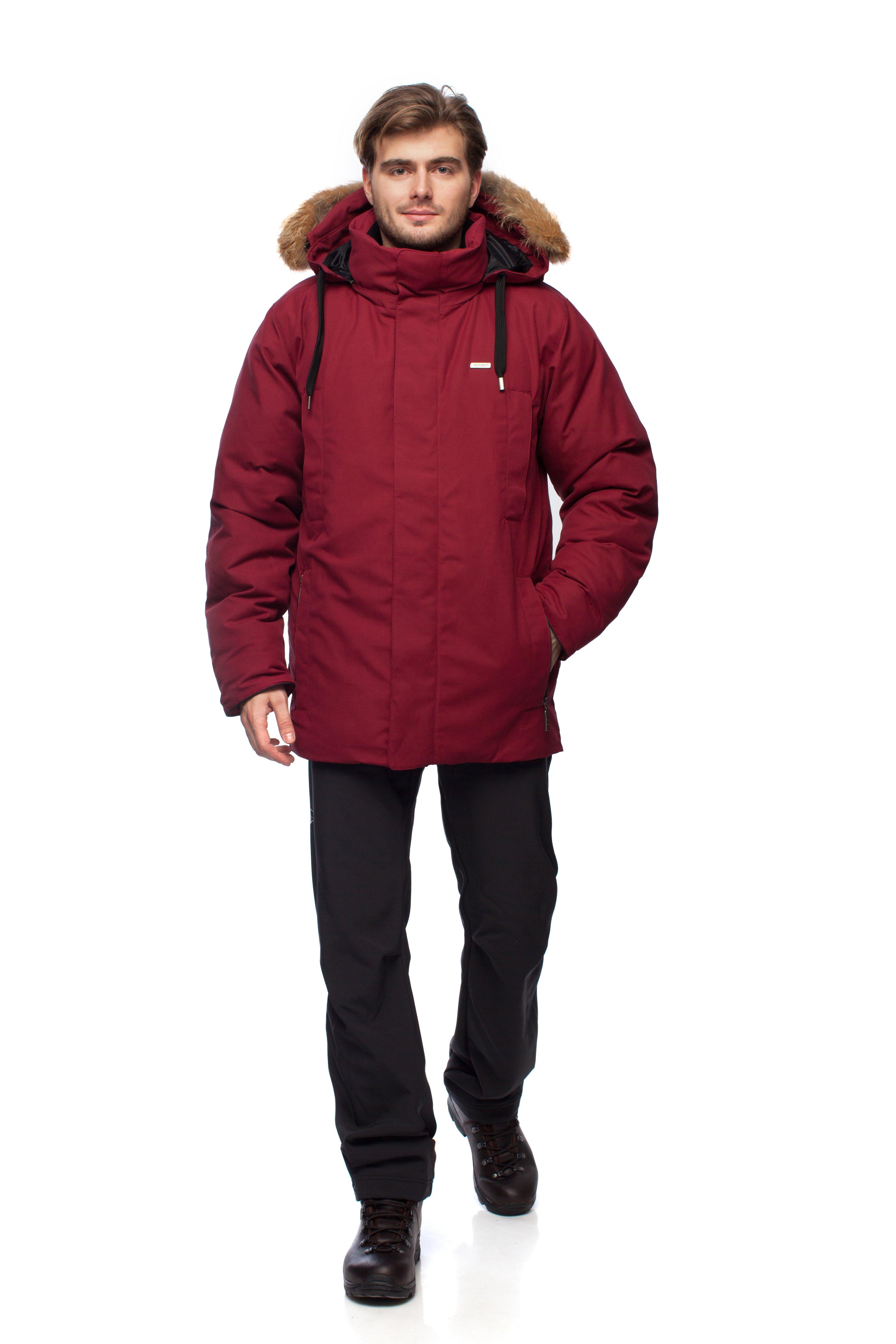 Пуховая куртка BASK ARGUT 1462Мужская пуховая куртка для городской зимы из коллекции Outdoor Spirit.&amp;nbsp;<br><br>&quot;Дышащие&quot; свойства: Да<br>Верхняя ткань: Nylon 50%, Cotton 50%, Teflon WR<br>Вес граммы: 1940<br>Вес утеплителя: 320<br>Ветро-влагозащитные свойства верхней ткани: Да<br>Ветрозащитная планка: Да<br>Ветрозащитная юбка: Да<br>Влагозащитные молнии: Нет<br>Внутренние манжеты: Да<br>Внутренняя ткань: Advance® Classic<br>Дублирующий центральную молнию клапан: Да<br>Защитный козырёк капюшона: Нет<br>Капюшон: Съемный<br>Карман для средств связи: Нет<br>Количество внешних карманов: 4<br>Количество внутренних карманов: 2<br>Коллекция: OutDoor Spirit<br>Мембрана: Нет<br>Объемный крой локтевой зоны: Нет<br>Отстёгивающиеся рукава: Нет<br>Показатель Fill Power (для пуховых изделий): 650<br>Пол: Мужской<br>Проклейка швов: Нет<br>Регулировка манжетов рукавов: Нет<br>Регулировка низа: Нет<br>Регулировка объёма капюшона: Да<br>Регулировка талии: Да<br>Регулируемые вентиляционные отверстия: Нет<br>Световозвращающая лента: Нет<br>Температурный режим: -25<br>Технология Thermal Welding: Нет<br>Технология швов: Простые<br>Тип молнии: Двухзамковая<br>Тип утеплителя: Натуральный<br>Ткань усиления: Нет<br>Усиление контактных зон: Нет<br>Утеплитель: Гусиный пух<br>Размер RU: 44<br>Цвет: КРАСНЫЙ