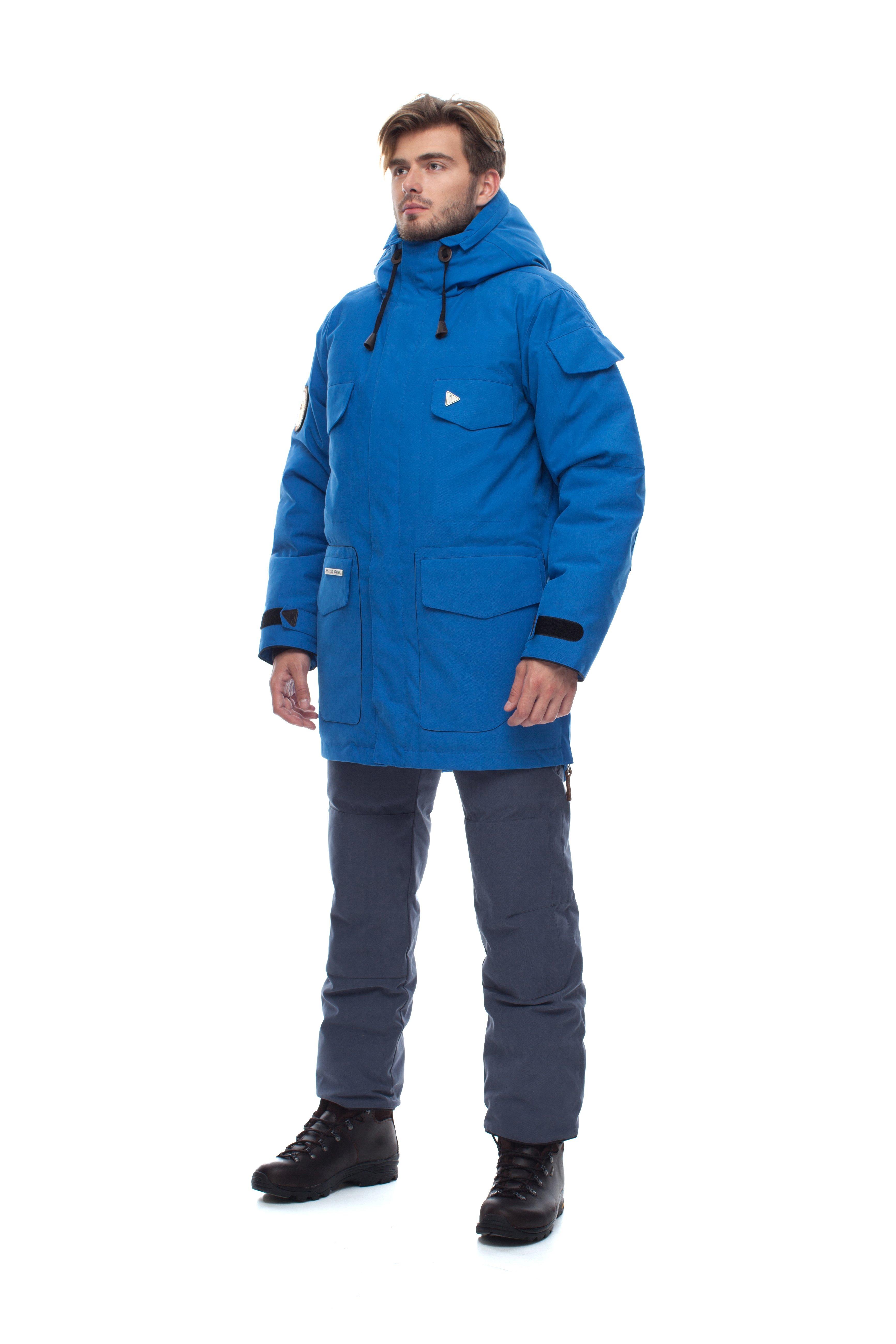 Пуховая куртка BASK TAIMYR 3773Тепло дешевле летом<br><br><br>Верхняя ткань: Advance® Alaska<br>Вес граммы: 2550<br>Вес утеплителя: 430<br>Ветро-влагозащитные свойства верхней ткани: Да<br>Ветрозащитная планка: Да<br>Ветрозащитная юбка: Да<br>Влагозащитные молнии: Нет<br>Внутренние манжеты: Да<br>Внутренняя ткань: Advance® Classic<br>Водонепроницаемость: 5000<br>Дублирующий центральную молнию клапан: Да<br>Защитный козырёк капюшона: Нет<br>Капюшон: Несъемный<br>Карман для средств связи: Да<br>Количество внешних карманов: 9<br>Количество внутренних карманов: 2<br>Мембрана: Да<br>Объемный крой локтевой зоны: Да<br>Отстёгивающиеся рукава: Нет<br>Паропроницаемость: 5000<br>Показатель Fill Power (для пуховых изделий): 650<br>Проклейка швов: Нет<br>Регулировка манжетов рукавов: Да<br>Регулировка низа: Нет<br>Регулировка объёма капюшона: Да<br>Регулировка талии: Да<br>Регулируемые вентиляционные отверстия: Нет<br>Световозвращающая лента: Нет<br>Температурный режим: -40<br>Технология Thermal Welding: Нет<br>Технология швов: Простые<br>Тип молнии: Двухзамковая<br>Тип утеплителя: Натуральный<br>Ткань усиления: нет<br>Усиление контактных зон: Да<br>Утеплитель: Гусиный пух<br>Размер RU: 56<br>Цвет: БЕЛЫЙ