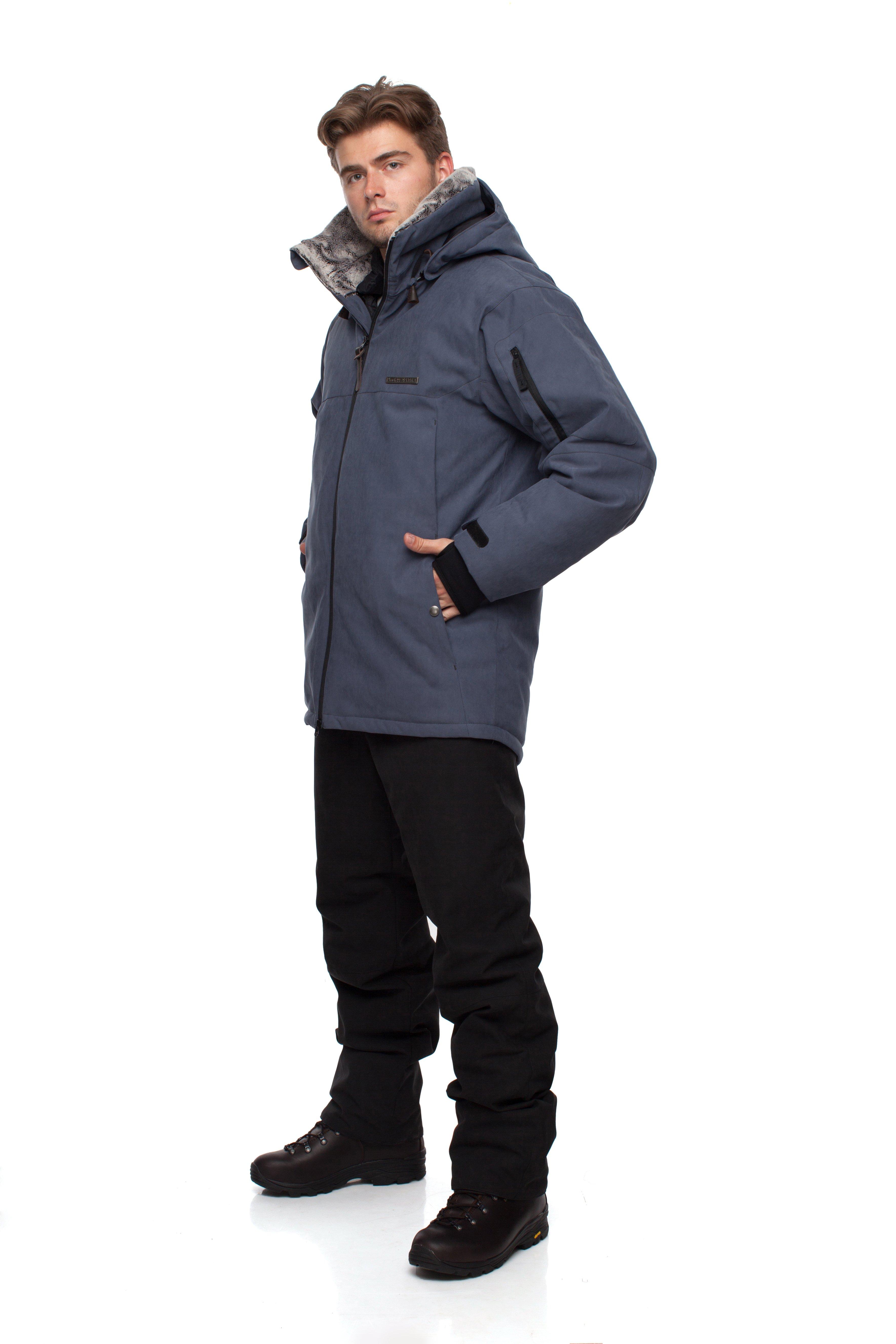 Куртка BASK AZIMUTH V3 3775Тёплая мембранная мужская зимняя куртка BASK AZIMUTH V3 3 в 1 с синтетическим утеплителем Thinsulate&amp;reg; и съемным пуховым жилетом, температурный режим -25 &amp;deg;С.<br><br>&quot;Дышащие&quot; свойства: Да<br>Верхняя ткань: Advance® Alaska<br>Вес граммы: 2020<br>Ветро-влагозащитные свойства верхней ткани: Да<br>Ветрозащитная планка: Да<br>Ветрозащитная юбка: Нет<br>Влагозащитные молнии: Нет<br>Внутренние манжеты: Да<br>Внутренняя ткань: Advance® Classic<br>Водонепроницаемость: 5000<br>Дублирующий центральную молнию клапан: Нет<br>Защитный козырёк капюшона: Да<br>Капюшон: Съемный<br>Карман для средств связи: Нет<br>Количество внешних карманов: 5<br>Количество внутренних карманов: 4<br>Коллекция: Pole to Pole<br>Мембрана: Да<br>Объемный крой локтевой зоны: Да<br>Отстёгивающиеся рукава: Нет<br>Паропроницаемость: 5000<br>Показатель Fill Power (для пуховых изделий): 650<br>Пол: Мужской<br>Проклейка швов: Нет<br>Регулировка манжетов рукавов: Да<br>Регулировка низа: Да<br>Регулировка объёма капюшона: Да<br>Регулировка талии: Нет<br>Регулируемые вентиляционные отверстия: Нет<br>Световозвращающая лента: Нет<br>Температурный режим: -25<br>Технология Thermal Welding: Нет<br>Технология швов: Простые<br>Тип молнии: Двухзамковая<br>Тип утеплителя: Комбинированный<br>Ткань усиления: Нет<br>Усиление контактных зон: Нет<br>Утеплитель: Thinsulate®