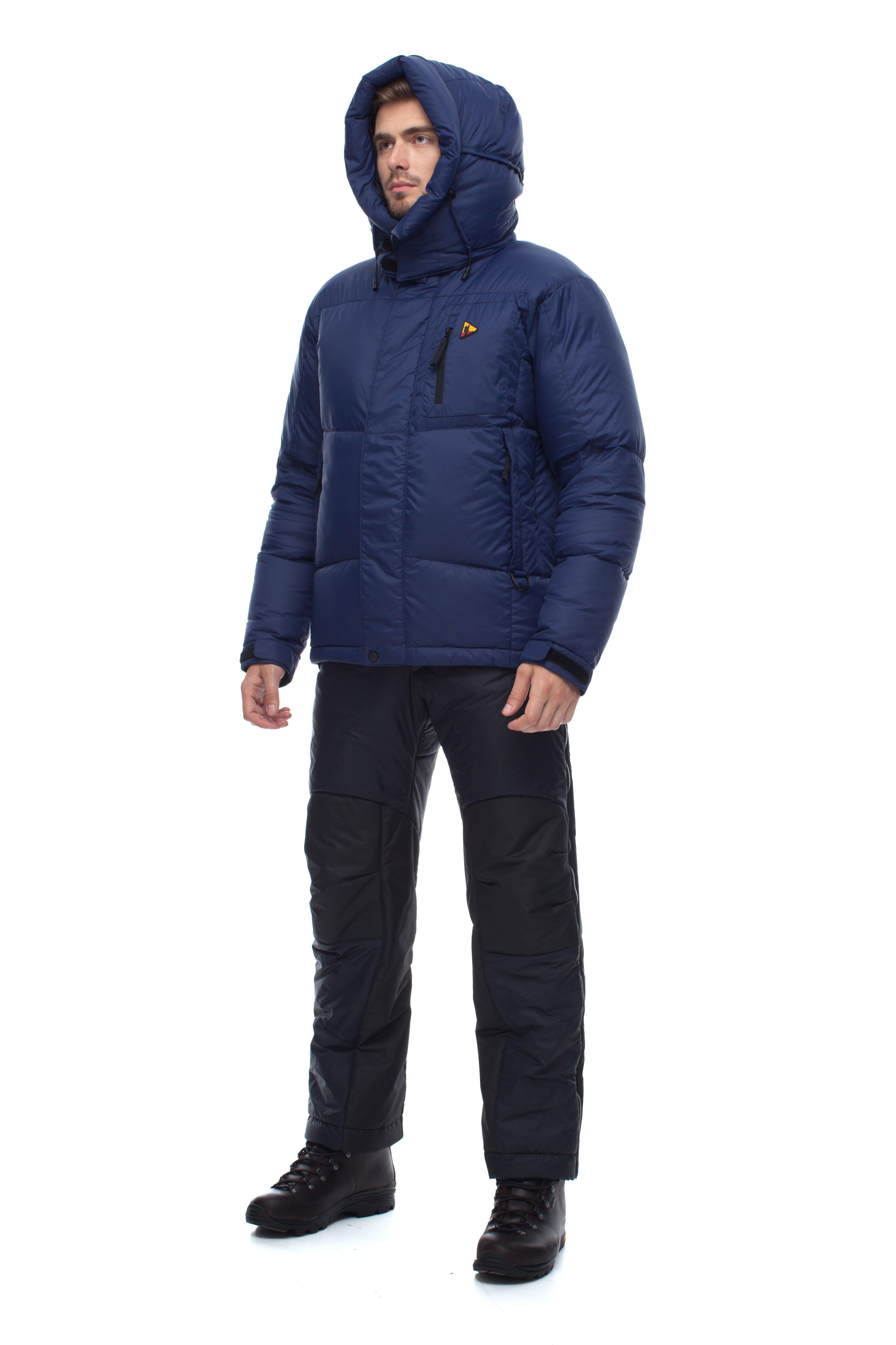 Пуховая куртка BASK HEAVEN V3 3776Лёгкая и теплая зимняя мужская пуховая куртка для экспедиций и города.<br><br>Верхняя ткань: Advance® Ecliptic<br>Вес граммы: 870<br>Вес утеплителя: 280<br>Ветро-влагозащитные свойства верхней ткани: Нет<br>Ветрозащитная планка: Да<br>Ветрозащитная юбка: Нет<br>Влагозащитные молнии: Нет<br>Внутренние манжеты: Нет<br>Внутренняя ткань: Advance® Classic<br>Водонепроницаемость: 1000<br>Дублирующий центральную молнию клапан: Да<br>Защитный козырёк капюшона: Нет<br>Капюшон: съемный<br>Карман для средств связи: Да<br>Количество внешних карманов: 3<br>Количество внутренних карманов: 2<br>Коллекция: OUTDOOR SPIRIT ADVENTURE TEAM<br>Мембрана: Advance MPC<br>Объемный крой локтевой зоны: Нет<br>Отстёгивающиеся рукава: Нет<br>Паропроницаемость: 7000<br>Показатель Fill Power (для пуховых изделий): 670<br>Пол: Муж.<br>Проклейка швов: Нет<br>Регулировка манжетов рукавов: Да<br>Регулировка низа: Да<br>Регулировка объёма капюшона: Да<br>Регулировка талии: Нет<br>Регулируемые вентиляционные отверстия: Нет<br>Световозвращающая лента: Нет<br>Температурный режим: -15<br>Технология Thermal Welding: Нет<br>Технология швов: простые<br>Тип молнии: двухзамковая<br>Тип утеплителя: натуральный<br>Ткань усиления: нет<br>Усиление контактных зон: Да<br>Утеплитель: гусиный пух<br>Размер RU: 52<br>Цвет: СИНИЙ