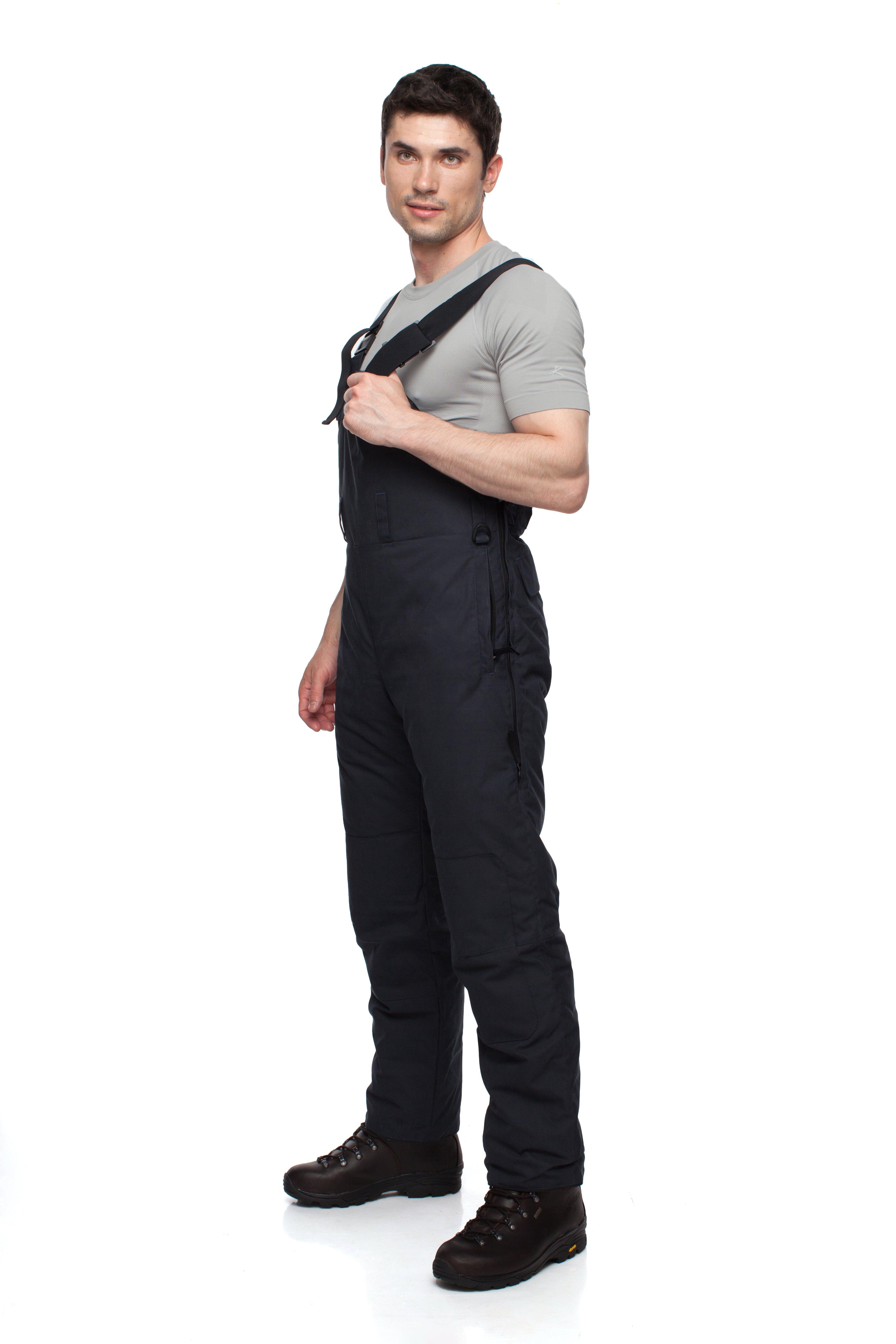 Полукомбинезон пуховый BASK TAGANAY 3777Теплый, зимний &amp;nbsp;мужской пуховой полукомбинезон с высокой спинкой и грудкой. Идеально подходят к курткам из мужской серии &amp;laquo;За Полярным Кругом&amp;raquo;.<br><br>Верхняя ткань: Advance® Alaska<br>Влагозащитные молнии: Нет<br>Влагонепроницаемость: 10000<br>Внутренняя ткань: Advance® Classic<br>Водонепроницаемость: 10000<br>Количество внешних карманов: 1<br>Объемный крой коленей: Да<br>Отстегивающийся задний клапан: Нет<br>Пол: Муж.<br>Регулировка объема нижней части штанин: Да<br>Регулировка пояса: Да<br>Регулируемые бретели: Да<br>Регулируемые вентиляционные отверстия: Нет<br>Самосбросы: Нет<br>Система крепления к нижней части брюк: Нет<br>Снегозащитные муфты: Нет<br>Съемные защитные вкладыши: Нет<br>Технология Thermal Welding: Нет<br>Тип утеплителя: натуральный<br>Тип шва: простые<br>Усиление швов закрепками: Да<br>Утеплитель: гусиный пух<br>Функциональная молния спереди: Да<br>Размер RU: 46<br>Цвет: СИНИЙ