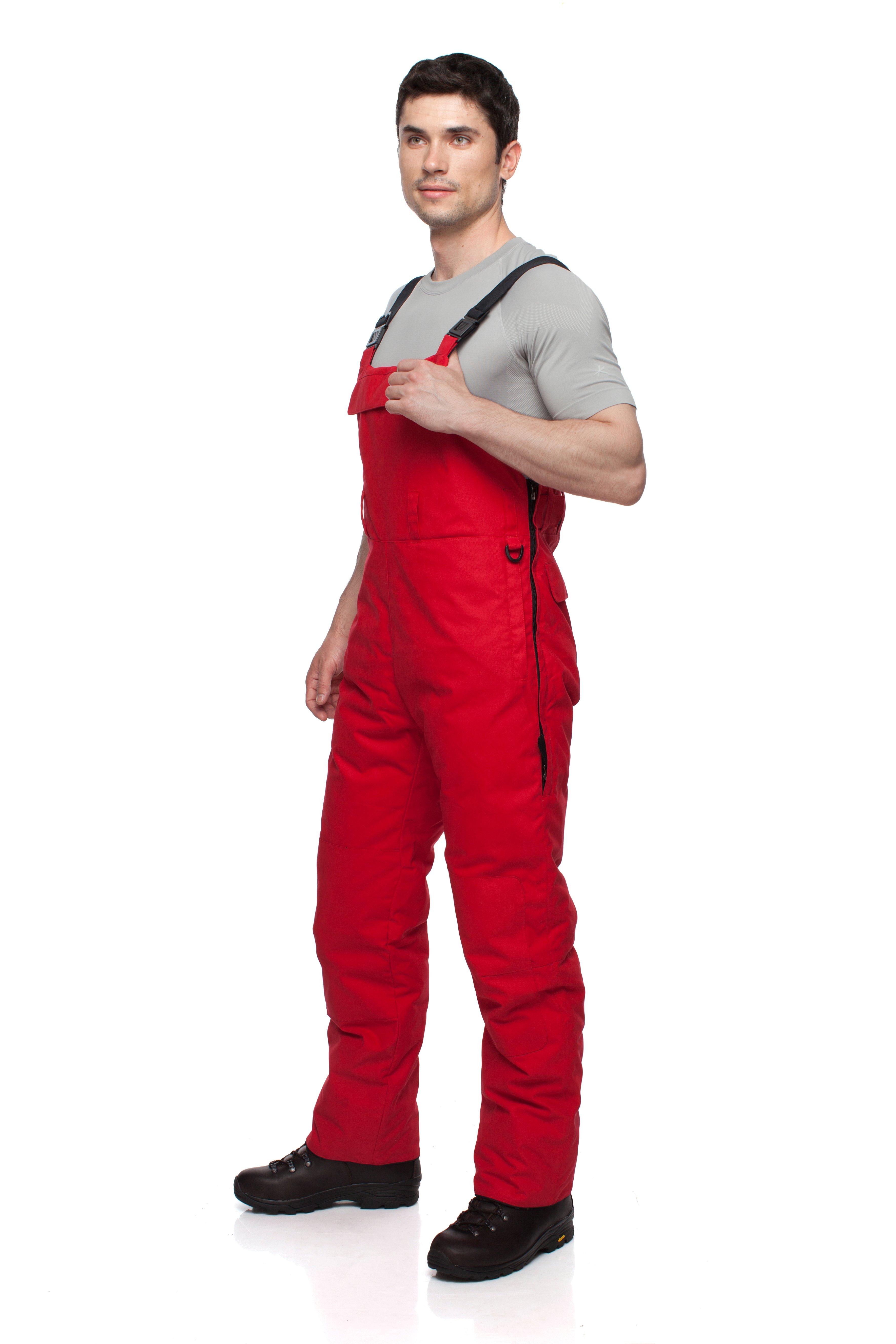 Полукомбинезон BASK TAGANAY 3777Теплый, зимний &amp;nbsp;мужской пуховой полукомбинезон с высокой спинкой и грудкой. Идеально подходят к курткам из мужской серии «За Полярным Кругом».<br><br>Верхняя ткань: Advance® Alaska<br>Влагозащитные молнии: Нет<br>Влагонепроницаемость: 10000<br>Внутренняя ткань: Advance® Classic<br>Водонепроницаемость: 10000<br>Количество внешних карманов: 1<br>Объемный крой коленей: Да<br>Отстегивающийся задний клапан: Нет<br>Пол: Муж.<br>Регулировка объема нижней части штанин: Да<br>Регулировка пояса: Да<br>Регулируемые бретели: Да<br>Регулируемые вентиляционные отверстия: Нет<br>Самосбросы: Нет<br>Система крепления к нижней части брюк: Нет<br>Снегозащитные муфты: Нет<br>Съемные защитные вкладыши: Нет<br>Технология Thermal Welding: Нет<br>Тип утеплителя: натуральный<br>Тип шва: простые<br>Усиление швов закрепками: Да<br>Утеплитель: гусиный пух<br>Функциональная молния спереди: Да<br>Размер RU: 46<br>Цвет: СЕРЫЙ