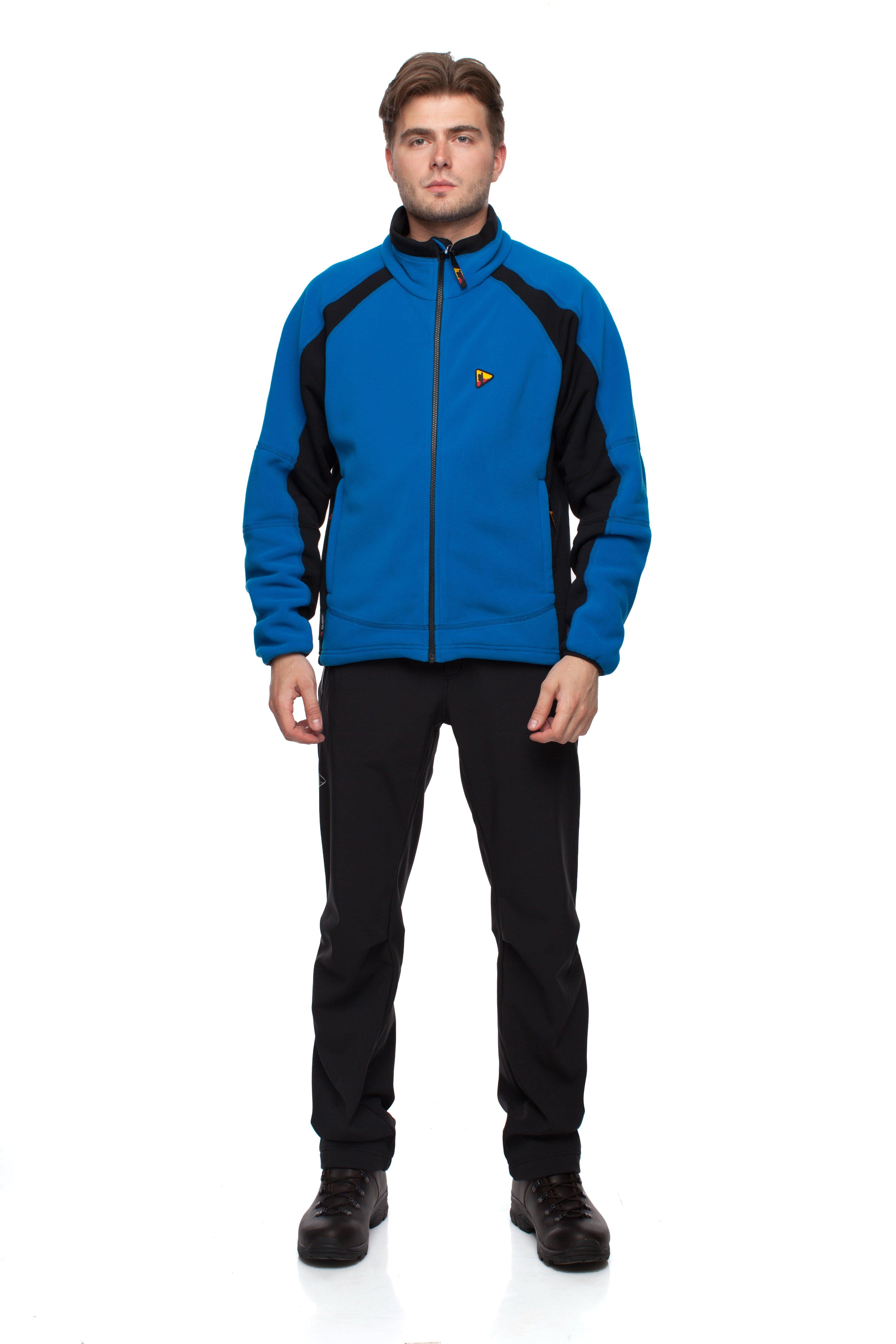 Куртка BASK FORWARD 4107Флисовые куртки<br>Тёплая  мужская  куртка из ткани Polartec® Thermal Pro®.<br><br>Боковые карманы: 2<br>Вес граммы: 540<br>Ветрозащитная планка: Да<br>Внутренние карманы: 1<br>Материал: Polartec® Thermal Pro® плюс Polartec® Power Stretch®<br>Материал усиления: Нет<br>Нагрудные карманы: Нет<br>Пол: Мужской<br>Регулировка вентиляции: Нет<br>Регулировка низа: Да<br>Регулируемые вентиляционные отверстия: Нет<br>Тип молнии: Однозамковая<br>Усиление контактных зон: Нет<br>Размер INT: XXL<br>Цвет: ЧЕРНЫЙ