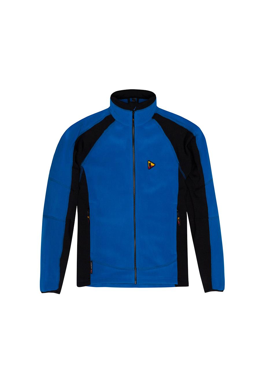 Куртка BASK FORWARD 4107Тёплая  мужская  куртка из ткани Polartec® Thermal Pro®.<br><br>Боковые карманы: 2<br>Вес граммы: 540<br>Ветрозащитная планка: Да<br>Внутренние карманы: 1<br>Материал: Polartec® Thermal Pro® плюс Polartec® Power Stretch®<br>Материал усиления: нет<br>Пол: Муж.<br>Регулировка вентиляции: Нет<br>Регулировка низа: Да<br>Регулируемые вентиляционные отверстия: Нет<br>Тип молнии: однозамковая<br>Усиление контактных зон: Нет<br>Размер INT: M<br>Цвет: СИНИЙ