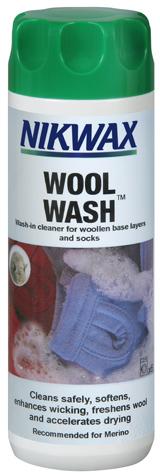 Средство для стирки Nikwax Wool Wash 300 ml N13100Nikwax&amp;reg; Wool Wash - деликатное и эффективное средство для стирки изделий из шерсти.<br><br>Вид: Средство для стирки<br>Назначение: Изделия из шерсти<br>Объем мл: 300<br>Тип: Для одежды
