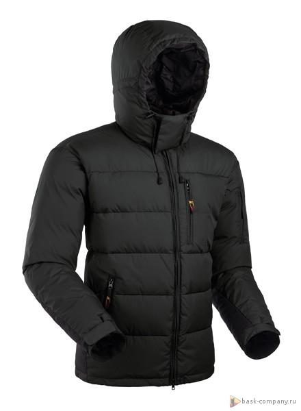 Пуховая куртка BASK SHICK V3 1907bЛёгкий зимний пуховик для города и зимних видов спорта., подходит для разнообразных погодных условий.<br><br>Верхняя ткань: Polyester Hipol<br>Вес граммы: 1600<br>Вес утеплителя: 375<br>Ветро-влагозащитные свойства верхней ткани: Да<br>Ветрозащитная планка: Да<br>Ветрозащитная юбка: Нет<br>Влагозащитные молнии: Нет<br>Внутренние манжеты: Нет<br>Внутренняя ткань: Resist-DT®<br>Водонепроницаемость: 1000<br>Дублирующий центральную молнию клапан: Нет<br>Защитный козырёк капюшона: Нет<br>Капюшон: отстегивается<br>Карман для средств связи: Нет<br>Количество внешних карманов: 4<br>Количество внутренних карманов: 2<br>Коллекция: OUTDOOR SPIRIT ADVENTURE TEAM<br>Объемный крой локтевой зоны: Да<br>Отстёгивающиеся рукава: Нет<br>Показатель Fill Power (для пуховых изделий): 650<br>Пол: Муж.<br>Проклейка швов: Нет<br>Регулировка манжетов рукавов: Да<br>Регулировка низа: Да<br>Регулировка объёма капюшона: Да<br>Регулировка талии: Да<br>Регулируемые вентиляционные отверстия: Да<br>Световозвращающая лента: Нет<br>Температурный режим: -20<br>Технология Thermal Welding: Нет<br>Технология швов: закрытые<br>Тип молнии: двухзамковая<br>Тип утеплителя: натуральный<br>Ткань усиления: Cats-eye PU<br>Усиление контактных зон: Да<br>Утеплитель: гусиный пух<br>Размер RU: 54<br>Цвет: ЧЕРНЫЙ