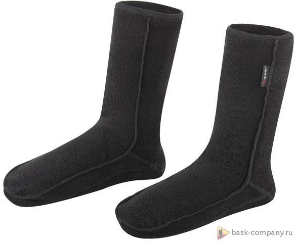 Носки BASK POLAR SOCKS V2 1574aТеплые носки из ткани Polartec&amp;reg; Classic 200&amp;reg;. Рассчитаны на длительный срок интенсивной носки.<br><br>Внутренняя ткань: нет<br>Материал: Polartec® Classic 200®.<br>Пол: Унисекс<br>Усиление: нет<br>Утеплитель: нет<br>Размер INT: XL<br>Цвет: ЧЕРНЫЙ