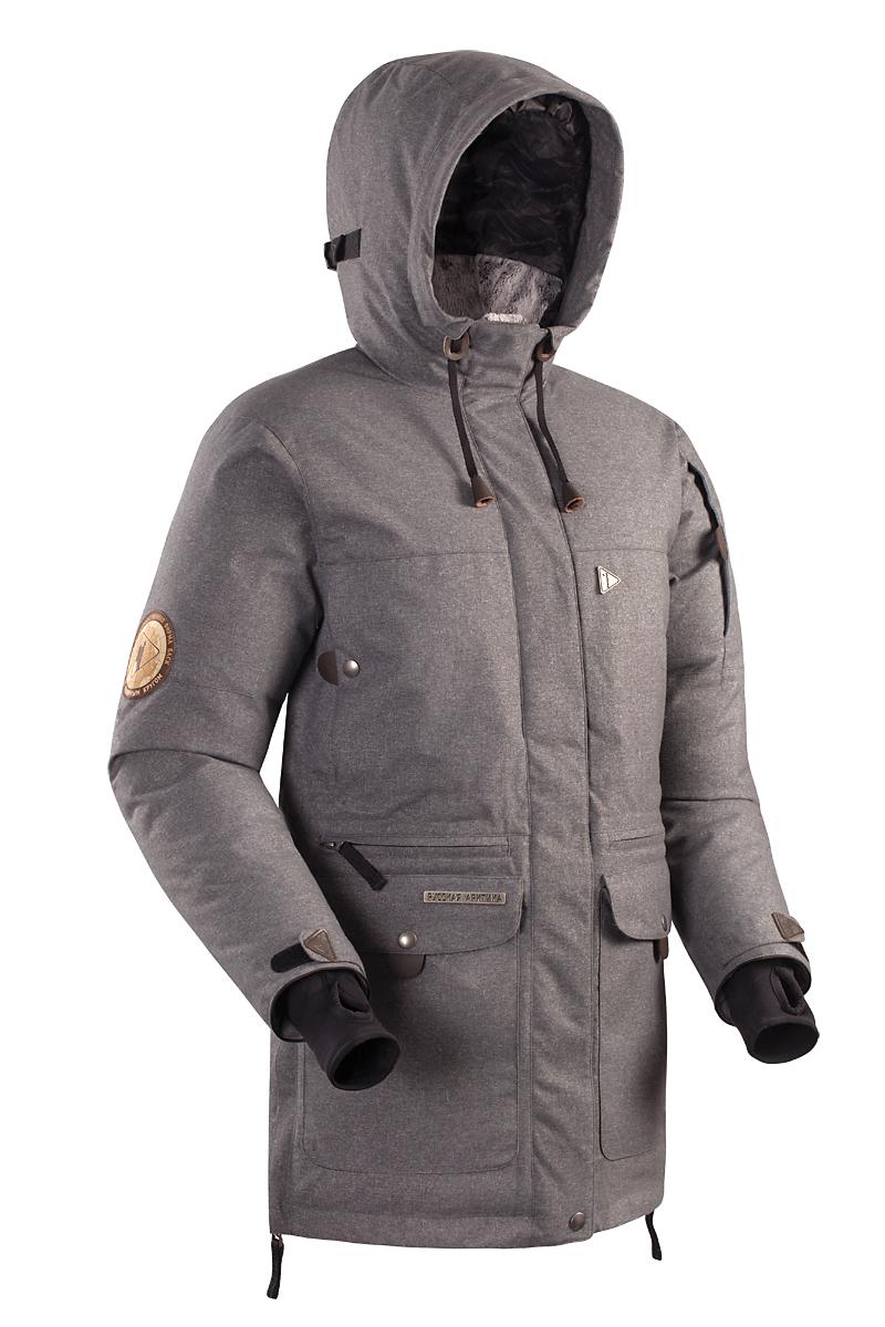Куртка BASK IREMEL SOFT 3778aТеплая женская зимняя пуховая куртка в стиле парка BASK IREMEL SOFT с мембранной тканью и температурным режимом -30 &amp;deg;С.<br><br>Верхняя ткань: Advance® Alaska Soft Melange<br>Вес граммы: 1950<br>Вес утеплителя: 420<br>Ветро-влагозащитные свойства верхней ткани: Да<br>Ветрозащитная планка: Да<br>Ветрозащитная юбка: Да<br>Влагозащитные молнии: Нет<br>Внутренние манжеты: Да<br>Внутренняя ткань: Advance® Classic<br>Водонепроницаемость: 5000<br>Дублирующий центральную молнию клапан: Да<br>Защитный козырёк капюшона: Нет<br>Капюшон: несъемный<br>Карман для средств связи: Нет<br>Количество внешних карманов: 8<br>Количество внутренних карманов: 2<br>Мембрана: да<br>Объемный крой локтевой зоны: Да<br>Отстёгивающиеся рукава: Нет<br>Паропроницаемость: 10000<br>Показатель Fill Power (для пуховых изделий): 650<br>Пол: Жен.<br>Проклейка швов: Нет<br>Регулировка манжетов рукавов: Да<br>Регулировка низа: Нет<br>Регулировка объёма капюшона: Да<br>Регулировка талии: Нет<br>Регулируемые вентиляционные отверстия: Нет<br>Световозвращающая лента: Нет<br>Температурный режим: -30<br>Технология Thermal Welding: Нет<br>Технология швов: простые<br>Тип молнии: двухзамковая<br>Тип утеплителя: натуральный<br>Ткань усиления: нет<br>Усиление контактных зон: Нет<br>Утеплитель: гусиный пух<br>Размер INT: S<br>Цвет: ЧЕРНЫЙ