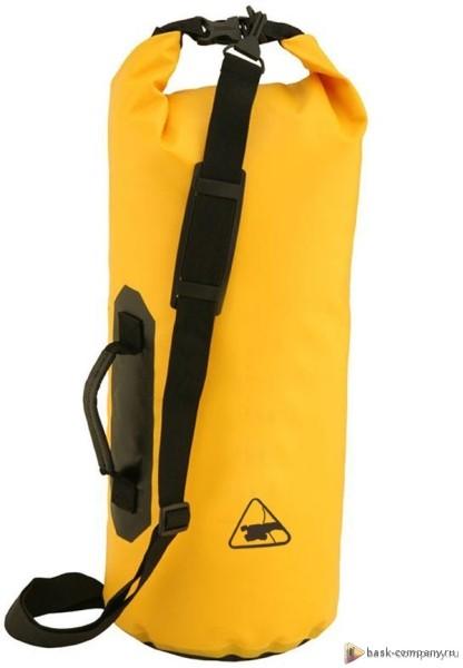 Гермомешок BASK WP 25 V2 5441aГерметичный мешок для защиты снаряжения, одежды и технических средств.<br><br>Вес граммы: 650<br>Материал изготовления: PVC+Nylon<br>Объем: 25<br>Размеры: 60 x 25 (длина на диаметр)<br>Способ герметизации: замок-скрутка<br>Цвет: ЖЕЛТЫЙ