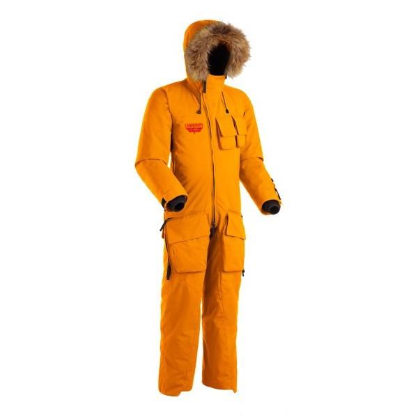 Комбинезон LMA GRIFFIN SHL 3892Куртки<br>Проклеенный мембранный комбинезон с опушкой из меха енота и превосходной вентиляцией &amp;ndash; настоящая находка для любителей фрирайда в горах и других зимних видов активного отдыха.<br><br>Верхняя ткань: Gelanots® 2L<br>Вес граммы: 2660<br>Ветро-влагозащитные свойства верхней ткани: Да<br>Ветрозащитная планка: Да<br>Ветрозащитная юбка: Нет<br>Влагозащитные молнии: Нет<br>Внутренние манжеты: Да<br>Внутренняя ткань: Advance® Classic<br>Водонепроницаемость: 20000<br>Дублирующий центральную молнию клапан: Да<br>Защитный козырёк капюшона: Нет<br>Капюшон: Несъемный<br>Карман для средств связи: Нет<br>Количество внешних карманов: 8<br>Количество внутренних карманов: 2<br>Мембрана: Gelanots®<br>Объемный крой локтевой зоны: Да<br>Отстёгивающиеся рукава: Нет<br>Паропроницаемость: 15000<br>Пол: Унисекс<br>Проклейка швов: Да<br>Регулировка манжетов рукавов: Да<br>Регулировка низа: Да<br>Регулировка объёма капюшона: Да<br>Регулировка талии: Нет<br>Регулируемые вентиляционные отверстия: Да<br>Световозвращающая лента: Нет<br>Температурный режим: -15<br>Технология Thermal Welding: Нет<br>Тип утеплителя: Синтетический<br>Ткань усиления: нет<br>Усиление контактных зон: Нет<br>Утеплитель: Shelter®Sport<br>Размер INT: M<br>Цвет: СЕРЫЙ