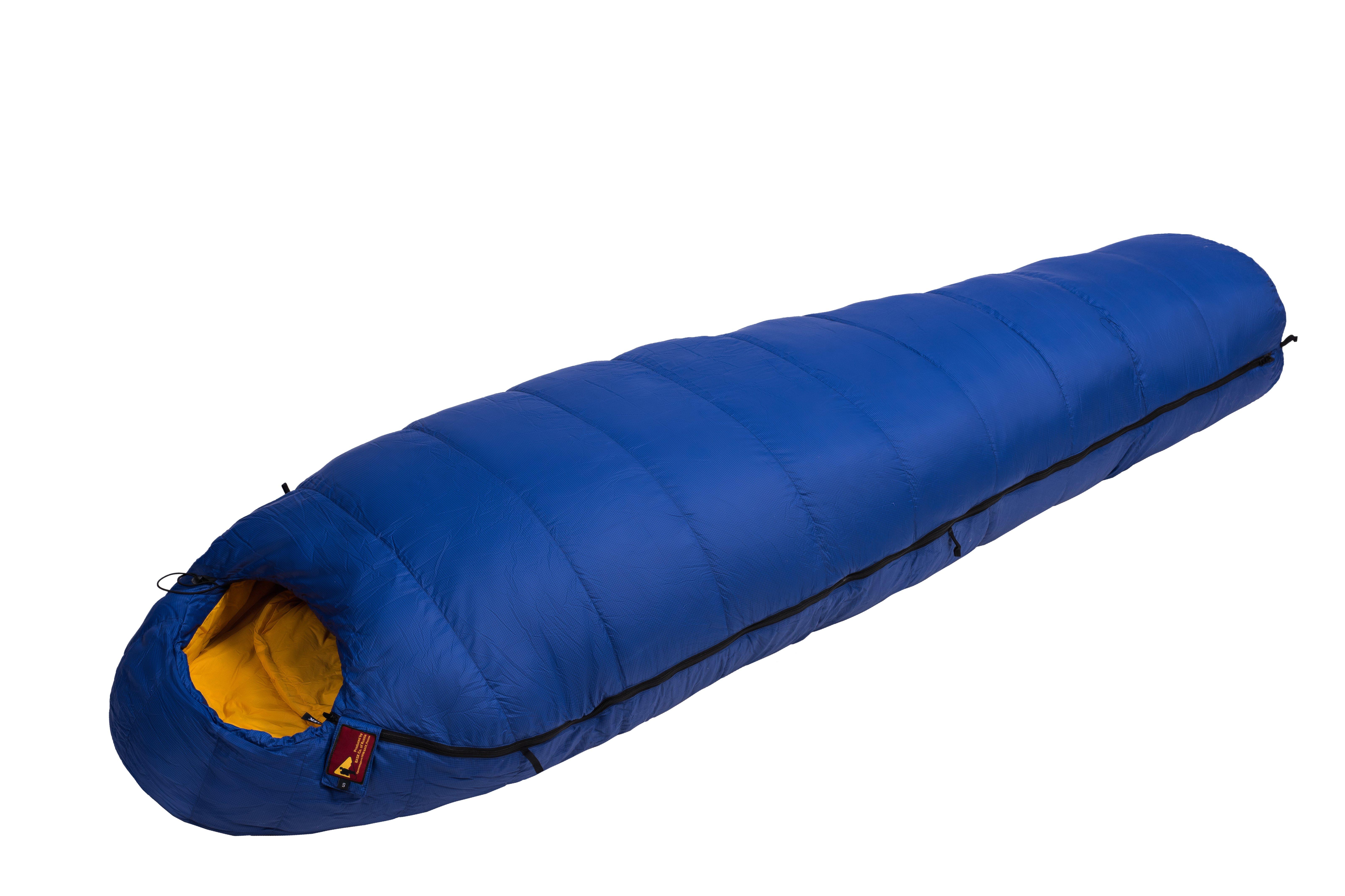 Спальный мешок BASK PAMIRS 800+FP S 1692dСпальные мешки<br>Пуховой спальный мешок в форме кокон для экстремальных условий -30 &amp;ordm;С.<br><br>Верхняя ткань: Advance® Classic<br>Вес без упаковки: 1190<br>Вес упаковки: 140<br>Вес утеплителя: 635<br>Внутренняя ткань: Advance® Classic<br>Назначение: Экстремальный<br>Наличие карманов: Да<br>Наполнитель: Гусиный пух<br>Нижняя температура комфорта °C: -11<br>Подголовник/Капюшон: Да<br>Показатель Fill Power (для пуховых изделий): 850<br>Пол: Унисекс<br>Размер в упакованном виде (диаметр х длина): 22x46<br>Размеры наружные (внутренние): 198х175х80х54<br>Система расположения слоев утеплителя или пуховых пакетов: Смещенные швы<br>Температура комфорта °C: -4<br>Тесьма вдоль планки: Да<br>Тип молнии: Двухзамковая-разъёмная<br>Тип утеплителя: Натуральный<br>Утеплитель: Гусиный пух<br>Утепляющая планка: Да<br>Форма: Кокон<br>Шейный пакет: Да<br>Экстремальная температура °C: -30<br>Размер RU: R<br>Цвет: СИНИЙ