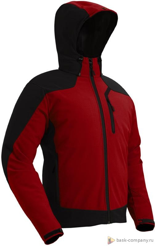 Куртка BASK TORNADO 4954Куртки<br><br><br>Верхняя ткань: Resist® Softshell Dry<br>Вес граммы: 730<br>Ветро-влагозащитные свойства верхней ткани: Да<br>Ветрозащитная планка: Да<br>Ветрозащитная юбка: Нет<br>Влагозащитные молнии: Нет<br>Внутренние манжеты: Нет<br>Внутренняя ткань: мягкий трикотаж<br>Водонепроницаемость: 15000<br>Дублирующий центральную молнию клапан: Нет<br>Защитный козырёк капюшона: Да<br>Капюшон: Несъемный<br>Карман для средств связи: Да<br>Количество внешних карманов: 3<br>Количество внутренних карманов: 1<br>Мембрана: Resist® Softshell Dry<br>Объемный крой локтевой зоны: Да<br>Отстёгивающиеся рукава: Нет<br>Паропроницаемость: 15000<br>Пол: Мужской<br>Проклейка швов: Нет<br>Регулировка манжетов рукавов: Да<br>Регулировка низа: Да<br>Регулировка объёма капюшона: Да<br>Регулировка талии: Нет<br>Регулируемые вентиляционные отверстия: Нет<br>Световозвращающая лента: Нет<br>Технология Thermal Welding: Да<br>Технология швов: Простые<br>Тип молнии: Однозамковая влагостойкая<br>Ткань усиления: Resist® Softshell Dry<br>Усиление контактных зон: Да<br>Размер INT: XL<br>Цвет: КРАСНЫЙ