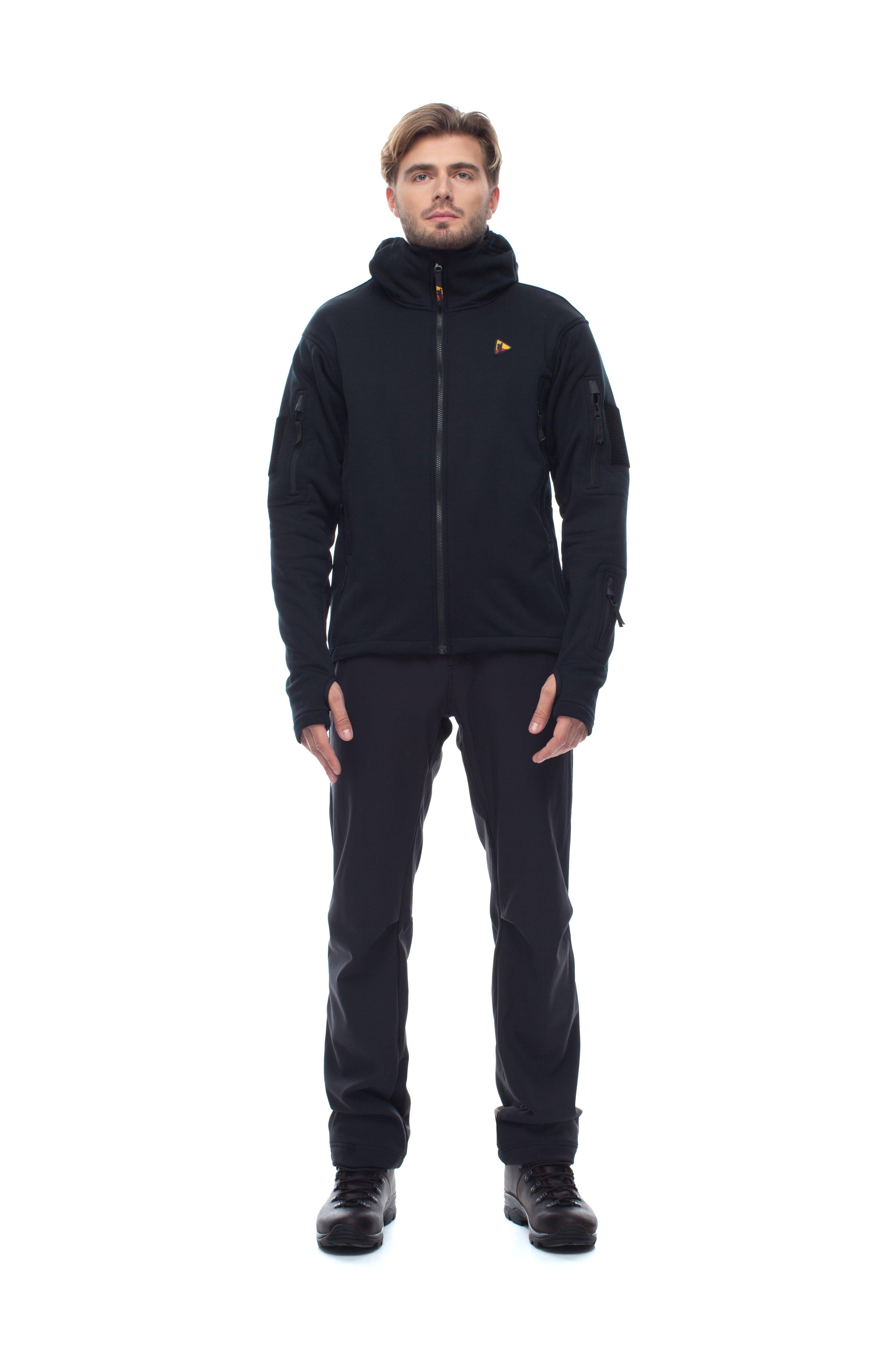 Куртка BASK EXPERT 4955Мужская куртка анатомического кроя из ткани Polartec&amp;reg; Wind Pro&amp;reg;. Предназначена для всесезонного использования. Зимой - в качестве утепляющего слоя, а в остальное время года - как самостоятельная куртка.<br><br>Боковые карманы: 2<br>Вес граммы: 710<br>Ветрозащитная планка: Нет<br>Внутренние карманы: 2<br>Материал: Polartec Wind Pro®<br>Пол: Муж.<br>Регулировка вентиляции: Нет<br>Регулировка низа: Да<br>Регулируемые вентиляционные отверстия: Нет<br>Тип молнии: однозамковая<br>Усиление контактных зон: Нет<br>Размер INT: S<br>Цвет: ЧЕРНЫЙ