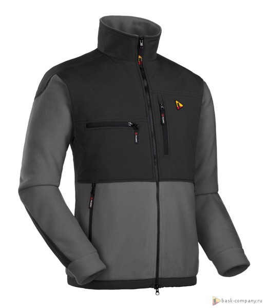 Куртка BASK STEWART V2 2421AФлисовые куртки<br><br><br>Боковые карманы: 2<br>Вес граммы: 825<br>Ветрозащитная планка: Да<br>Внутренние карманы: Нет<br>Коллекция: POLARTEC<br>Материал: Polartec® Thermal Pro®<br>Материал усиления: Nylon Tactel ®<br>Нагрудные карманы: 2<br>Пол: Мужской<br>Регулировка вентиляции: Нет<br>Регулировка низа: Да<br>Регулируемые вентиляционные отверстия: Нет<br>Тип молнии: Двухзамковая<br>Усиление контактных зон: Да<br>Размер INT: XL<br>Цвет: ЧЕРНЫЙ