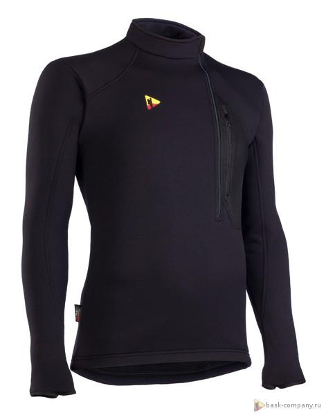 Куртка BASK EXPLORER V2 3300aКуртка из ткани Polartec&amp;reg; Power Stretch&amp;reg; Pro без капюшона с нагрудным карманом из сетки на левой стороне.<br><br>Вес изделия: 320<br>Воротник: Да<br>Кол-во карманов: 1<br>Материал: Polartec® Power Stretch® Pro<br>Молнии: Да<br>Плотность ткани: 241<br>Пол: Унисекс<br>Тип шва: обычный<br>Функциональная задняя молния: Нет<br>Размер INT: S<br>Цвет: ЧЕРНЫЙ