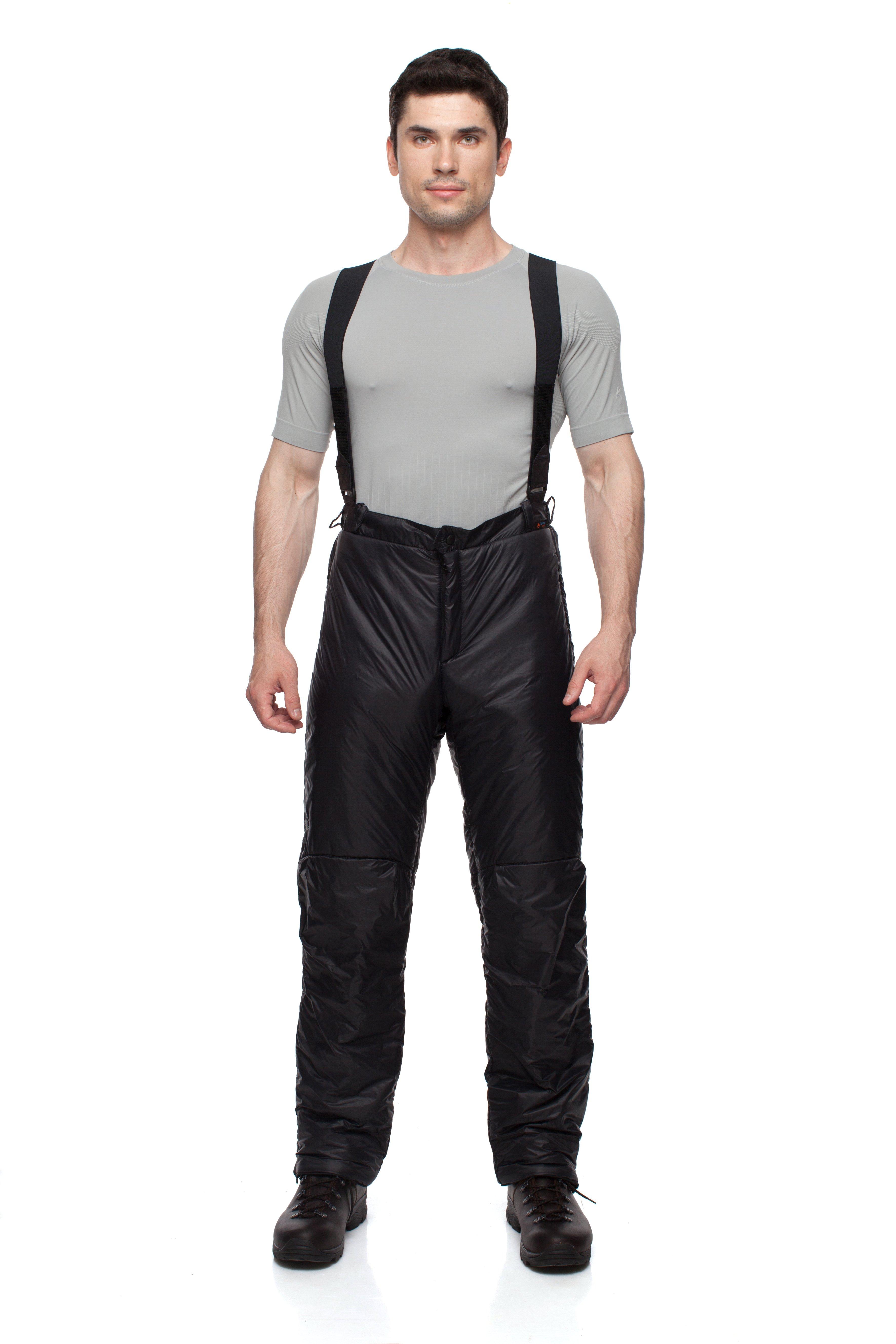 Брюки BASK HIKE 05 5153AБрюки и полукомбинезоны<br>Многофункциональные лёгкие утеплённые брюки–самосбросы для зимних видов спорта.<br><br>Верхняя ткань: Advance® Ecliptic<br>Вес граммы: 620<br>Влагозащитные молнии: Нет<br>Внутренняя ткань: Advance® Classic<br>Количество внешних карманов: 2<br>Объемный крой коленей: Да<br>Отстегивающийся задний клапан: Нет<br>Регулировка объема нижней части штанин: Да<br>Регулировка пояса: Да<br>Регулируемые бретели: Да<br>Регулируемые вентиляционные отверстия: Нет<br>Самосбросы: Да<br>Система крепления к нижней части брюк: Нет<br>Снегозащитные муфты: Нет<br>Съемные защитные вкладыши: Нет<br>Температурный режим: -10<br>Технология Thermal Welding: Нет<br>Тип утеплителя: Cинтетический<br>Ткань усиления: Nylon Ripstop Tactel<br>Усиление швов закрепками: Да<br>Утеплитель: Shelter® Sport<br>Функциональная молния спереди: Да<br>Размер RU: 60<br>Цвет: ЧЕРНЫЙ