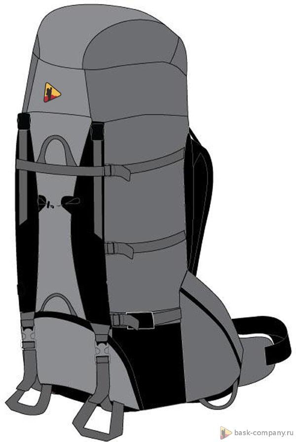 Рюкзак BASK PYTHON 120 V3 фото