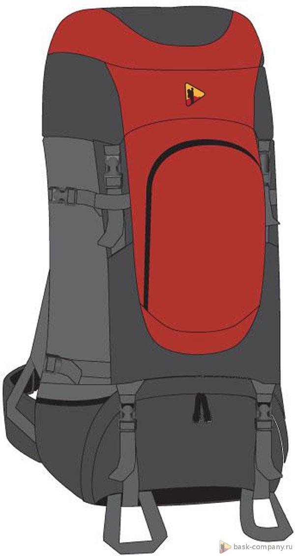 Туристический рюкзак BASK SHIVLING 70 фото