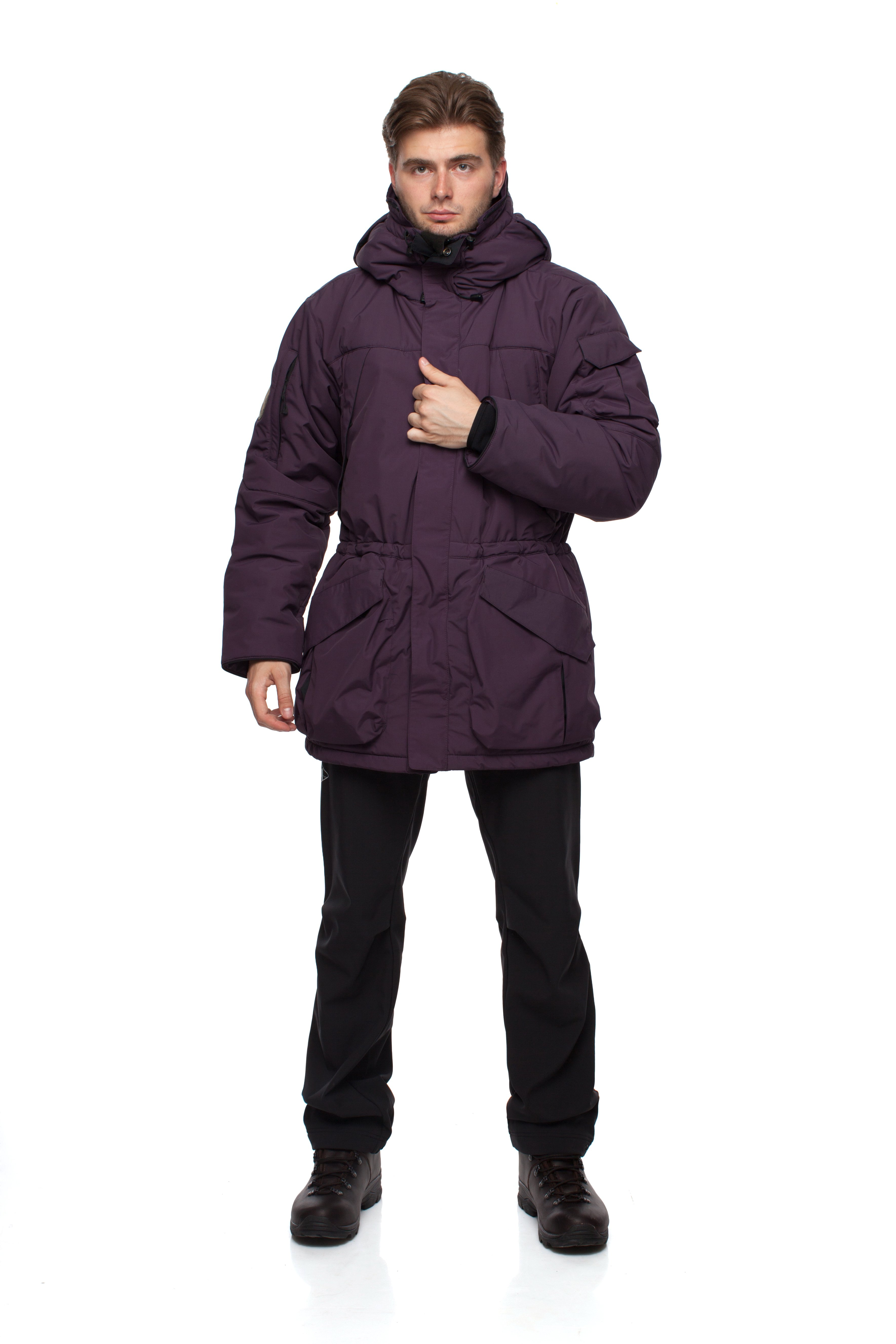 Куртка BASK SHL ANTARCTIC 5243Очень тёплая и практичная зимняя куртка для экстремальных условий.<br><br>Верхняя ткань: Nylon Supplex<br>Вес граммы: 2060<br>Ветро-влагозащитные свойства верхней ткани: Да<br>Ветрозащитная планка: Да<br>Ветрозащитная юбка: Да<br>Влагозащитные молнии: Нет<br>Внутренние манжеты: Да<br>Внутренняя ткань: Resist-DT®<br>Водонепроницаемость: 3000<br>Дублирующий центральную молнию клапан: Да<br>Защитный козырёк капюшона: Нет<br>Капюшон: несъемный<br>Карман для средств связи: Нет<br>Количество внешних карманов: 6<br>Количество внутренних карманов: 4<br>Мембрана: да<br>Объемный крой локтевой зоны: Нет<br>Отстёгивающиеся рукава: Нет<br>Паропроницаемость: 3000<br>Пол: Муж.<br>Проклейка швов: Нет<br>Регулировка манжетов рукавов: Нет<br>Регулировка низа: Нет<br>Регулировка объёма капюшона: Да<br>Регулировка талии: Да<br>Регулируемые вентиляционные отверстия: Нет<br>Световозвращающая лента: Нет<br>Температурный режим: -30<br>Технология Thermal Welding: Нет<br>Технология швов: простые<br>Тип молнии: двухзамковая<br>Тип утеплителя: синтетический<br>Ткань усиления: нет<br>Усиление контактных зон: Нет<br>Утеплитель: ShelterSport ®<br>Размер RU: 46<br>Цвет: КРАСНЫЙ