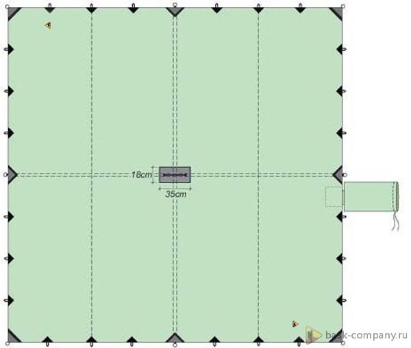 Туристический тент BASK CANOPY V3 6x6 3525Туристический тент&amp;nbsp;6х6 - укрытие для стоянки большой площади.<br><br>Вес граммы: 3560<br>Водостойкость: 3000<br>Материал: 75D Poly Taffeta 185T PU 3000 mm W/R<br>Наличие стакана под центральную стойку: Да<br>Оттяжки в комплекте: Да<br>Светоотражающие оттяжки: Нет<br>Цвет: ЗЕЛЕНЫЙ