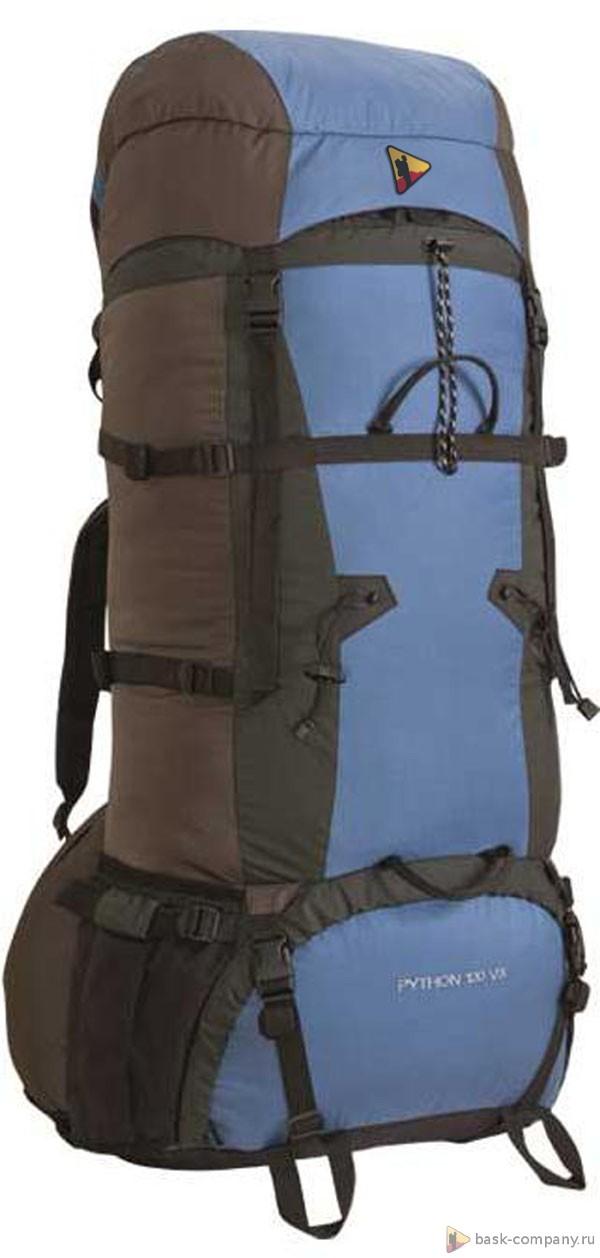 Рюкзак BASK PYTHON 120 V3 3496Туристический рюкзак&amp;nbsp;PYTHON 120 V3&amp;nbsp;разработан для продолжительных экспедиций и путешествий.<br><br>Анатомическая конструкция спины и ремней: Да<br>Вентиляция спины: Да<br>Вес граммы: 2600<br>Внутренние карманы: Да<br>Внутренняя перегородка: Да<br>Возможность крепления сноуборда/скейтборда/лыж: Нет<br>Грудной фиксатор: Да<br>Карман для гидратора: Нет<br>Карман для средств связи: Нет<br>Карманы на поясе: Да<br>Клапан: съемный<br>Назначение: экспедиционный<br>Накидка от дождя: Нет<br>Наружная навеска: снизу и по бокам<br>Наружные карманы: Да<br>Нижний вход: Да<br>Объем л.: 120<br>Регулировка объема: Да<br>Регулировка угла наклона пояса: Нет<br>Светоотражающий кант: Нет<br>Система подвески: IBS<br>Ткань: 210D Robic® Triple Rip<br>Усиление: Cordura 1000<br>Усиление дна: Да<br>Фурнитура: Duraflex. YKK