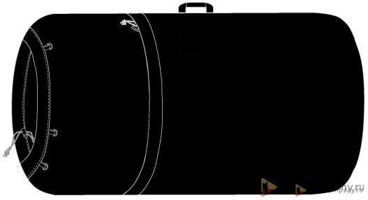 Транспортные чехлы BASK для рюкзака 35-120 литров фото