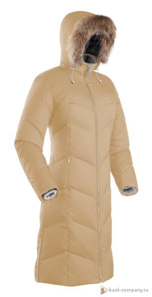 Пуховое пальто BASK ROUTE V3 4149bТёплое зимнее женское пуховое пальто. Элегантный силуэт и модные расцветки. Капюшон с отстегивающейся меховой опушкой.<br><br>Верхняя ткань: Avenu Duoran<br>Вес граммы: 1750<br>Вес утеплителя: 285<br>Ветро-влагозащитные свойства верхней ткани: Да<br>Ветрозащитная планка: Да<br>Ветрозащитная юбка: Нет<br>Влагозащитные молнии: Нет<br>Внутренние манжеты: Да<br>Внутренняя ткань: Advance® Classic<br>Дублирующий центральную молнию клапан: Нет<br>Защитный козырёк капюшона: Нет<br>Капюшон: отстегивается<br>Карман для средств связи: Да<br>Количество внешних карманов: 2<br>Количество внутренних карманов: 2<br>Объемный крой локтевой зоны: Нет<br>Отстёгивающиеся рукава: Нет<br>Показатель Fill Power (для пуховых изделий): 670<br>Пол: Жен.<br>Проклейка швов: Нет<br>Регулировка манжетов рукавов: Нет<br>Регулировка низа: Нет<br>Регулировка объёма капюшона: Да<br>Регулировка талии: Нет<br>Регулируемые вентиляционные отверстия: Нет<br>Световозвращающая лента: Нет<br>Температурный режим: -15<br>Технология Thermal Welding: Нет<br>Технология швов: простые<br>Тип молнии: двухзамковая<br>Тип утеплителя: натуральный<br>Усиление контактных зон: Нет<br>Утеплитель: гусиный пух<br>Размер INT: XL<br>Цвет: ХАКИ