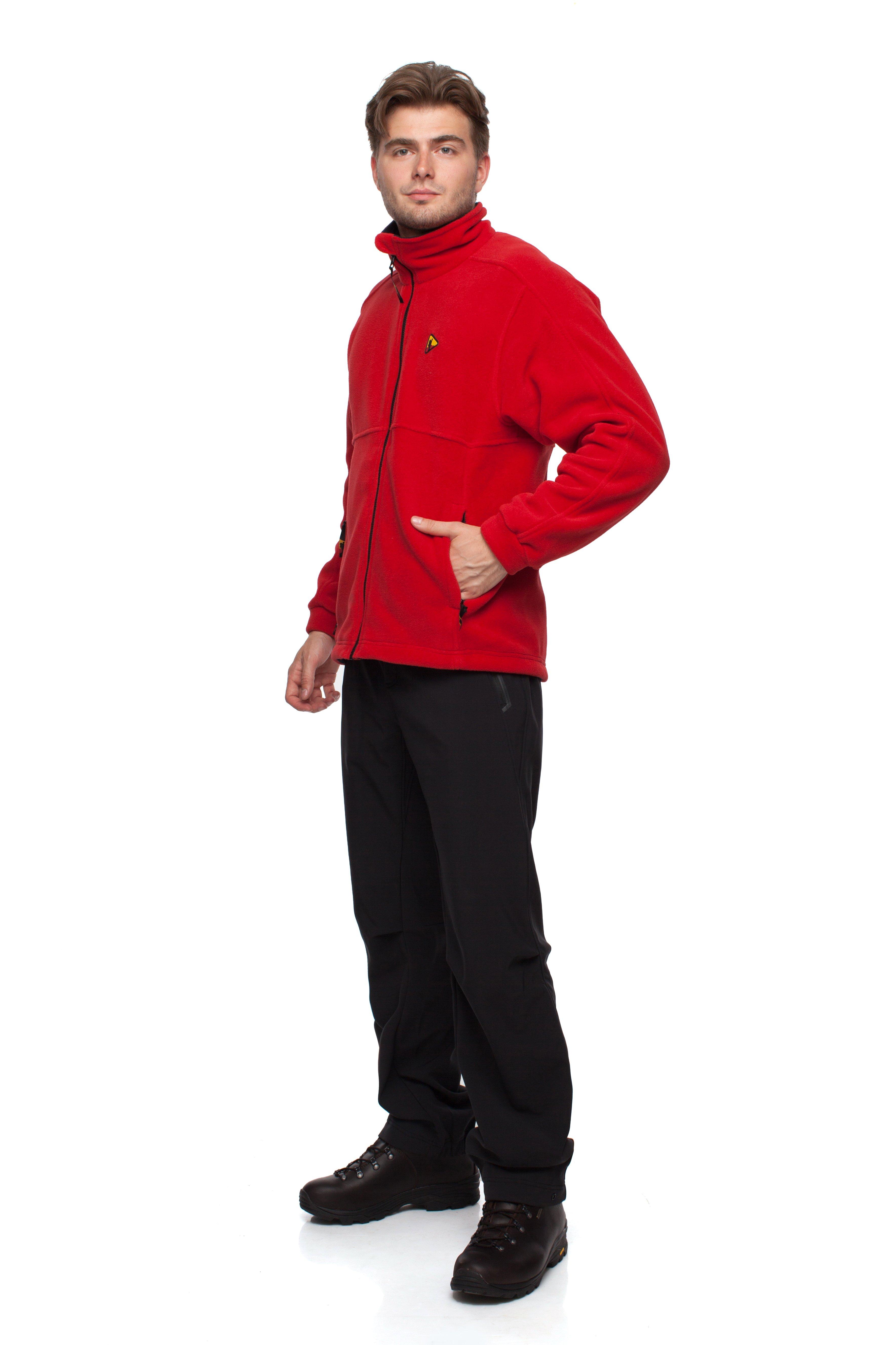 Куртка BASK FAST MJ z4253Теплая мужская куртка свободного покроя из ткани Polartec&amp;reg; 200 для спорта и активного отдыха.<br><br>Боковые карманы: 2<br>Ветрозащитная планка: Да<br>Материал: Polartec 200<br>Материал усиления: нет<br>Пол: Муж.<br>Регулировка вентиляции: Нет<br>Регулировка низа: Да<br>Регулируемые вентиляционные отверстия: Нет<br>Тип молнии: двухзамковая<br>Усиление контактных зон: Нет<br>Размер INT: S<br>Цвет: СИНИЙ