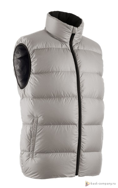 Жилет BASK MERU VEST 3771Очень легкий и функциональный мужской пуховый жилет. Минимальный вес и объем при отличной теплоизоляции.<br><br>Верхняя ткань: Advance® Superior<br>Вес граммы: 280<br>Вес утеплителя: 115<br>Ветрозащитная планка: Нет<br>Ветрозащитная юбка: Нет<br>Внутренняя ткань: Advance® Superior<br>Дублирующий центральную молнию клапан: Нет<br>Капюшон: Нет<br>Карман для средств связи: Нет<br>Количество внешних карманов: 2<br>Коллекция: Expert<br>Показатель Fill Power (для пуховых изделий): 700<br>Пол: Унисекс<br>Регулировка низа: Нет<br>Регулировка талии: Нет<br>Регулируемые вентиляционные отверстия: Нет<br>Температурный режим: -15<br>Технология швов: Простые<br>Тип молнии: Однозамковая<br>Тип утеплителя: Натуральный<br>Утеплитель: Гусиный пух<br>Размер INT: L<br>Цвет: СЕРЫЙ