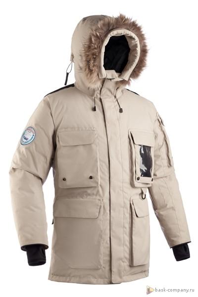 Пуховая куртка BASK YAMAL 3772Мужская пуховая куртка была разработана для промышленных и коммерческих работ в самых холодных районах планеты и для суровых зимних условий.<br><br>Верхняя ткань: Advance® Alaska<br>Вес граммы: 2725<br>Ветро-влагозащитные свойства верхней ткани: Да<br>Ветрозащитная планка: Да<br>Ветрозащитная юбка: Да<br>Влагозащитные молнии: Нет<br>Внутренние манжеты: Да<br>Внутренняя ткань: Advance® Classic<br>Водонепроницаемость: 5000<br>Дублирующий центральную молнию клапан: Да<br>Защитный козырёк капюшона: Нет<br>Капюшон: несъемный<br>Карман для средств связи: Да<br>Количество внешних карманов: 7<br>Количество внутренних карманов: 6<br>Мембрана: да<br>Объемный крой локтевой зоны: Да<br>Отстёгивающиеся рукава: Нет<br>Паропроницаемость: 5000<br>Показатель Fill Power (для пуховых изделий): 650<br>Пол: Муж.<br>Проклейка швов: Нет<br>Регулировка манжетов рукавов: Нет<br>Регулировка низа: Нет<br>Регулировка объёма капюшона: Да<br>Регулировка талии: Да<br>Регулируемые вентиляционные отверстия: Нет<br>Световозвращающая лента: Да<br>Температурный режим: -40<br>Технология Thermal Welding: Нет<br>Технология швов: простые<br>Тип молнии: двухзамковая<br>Тип утеплителя: натуральный<br>Усиление контактных зон: Да<br>Утеплитель: гусиный пух<br>Размер RU: 42<br>Цвет: ХАКИ