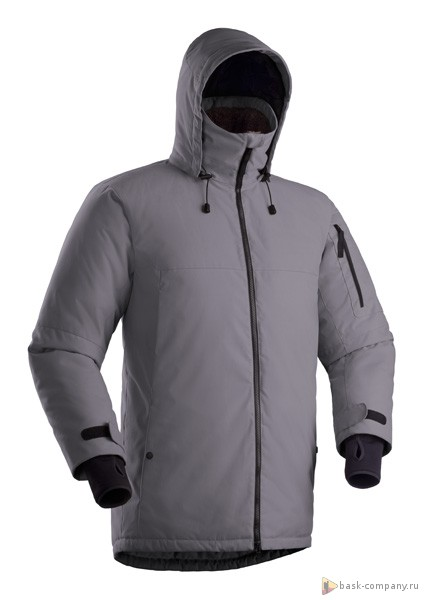 Куртка BASK AZIMUTH V3 3775Куртки<br>Тёплая мембранная мужская зимняя куртка BASK AZIMUTH V3 3 в 1 с синтетическим утеплителем Thinsulate® и съемным пуховым жилетом, температурный режим -25 °С.<br><br>&quot;Дышащие&quot; свойства: Да<br>Верхняя ткань: Advance® Alaska<br>Вес граммы: 2020<br>Ветро-влагозащитные свойства верхней ткани: Да<br>Ветрозащитная планка: Да<br>Ветрозащитная юбка: Нет<br>Влагозащитные молнии: Нет<br>Внутренние манжеты: Да<br>Внутренняя ткань: Advance® Classic<br>Водонепроницаемость: 5000<br>Дублирующий центральную молнию клапан: Нет<br>Защитный козырёк капюшона: Да<br>Капюшон: Съемный<br>Карман для средств связи: Нет<br>Количество внешних карманов: 5<br>Количество внутренних карманов: 4<br>Коллекция: Pole to Pole<br>Мембрана: Да<br>Объемный крой локтевой зоны: Да<br>Отстёгивающиеся рукава: Нет<br>Паропроницаемость: 5000<br>Показатель Fill Power (для пуховых изделий): 650<br>Пол: Мужской<br>Проклейка швов: Нет<br>Регулировка манжетов рукавов: Да<br>Регулировка низа: Да<br>Регулировка объёма капюшона: Да<br>Регулировка талии: Нет<br>Регулируемые вентиляционные отверстия: Нет<br>Световозвращающая лента: Нет<br>Температурный режим: -25<br>Технология Thermal Welding: Нет<br>Технология швов: Простые<br>Тип молнии: Двухзамковая<br>Тип утеплителя: Комбинированный<br>Ткань усиления: Нет<br>Усиление контактных зон: Нет<br>Утеплитель: Thinsulate®<br>Размер RU: 54<br>Цвет: БЕЖЕВЫЙ