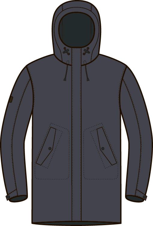 Куртка BASK MINKAR 1510, MINKAR